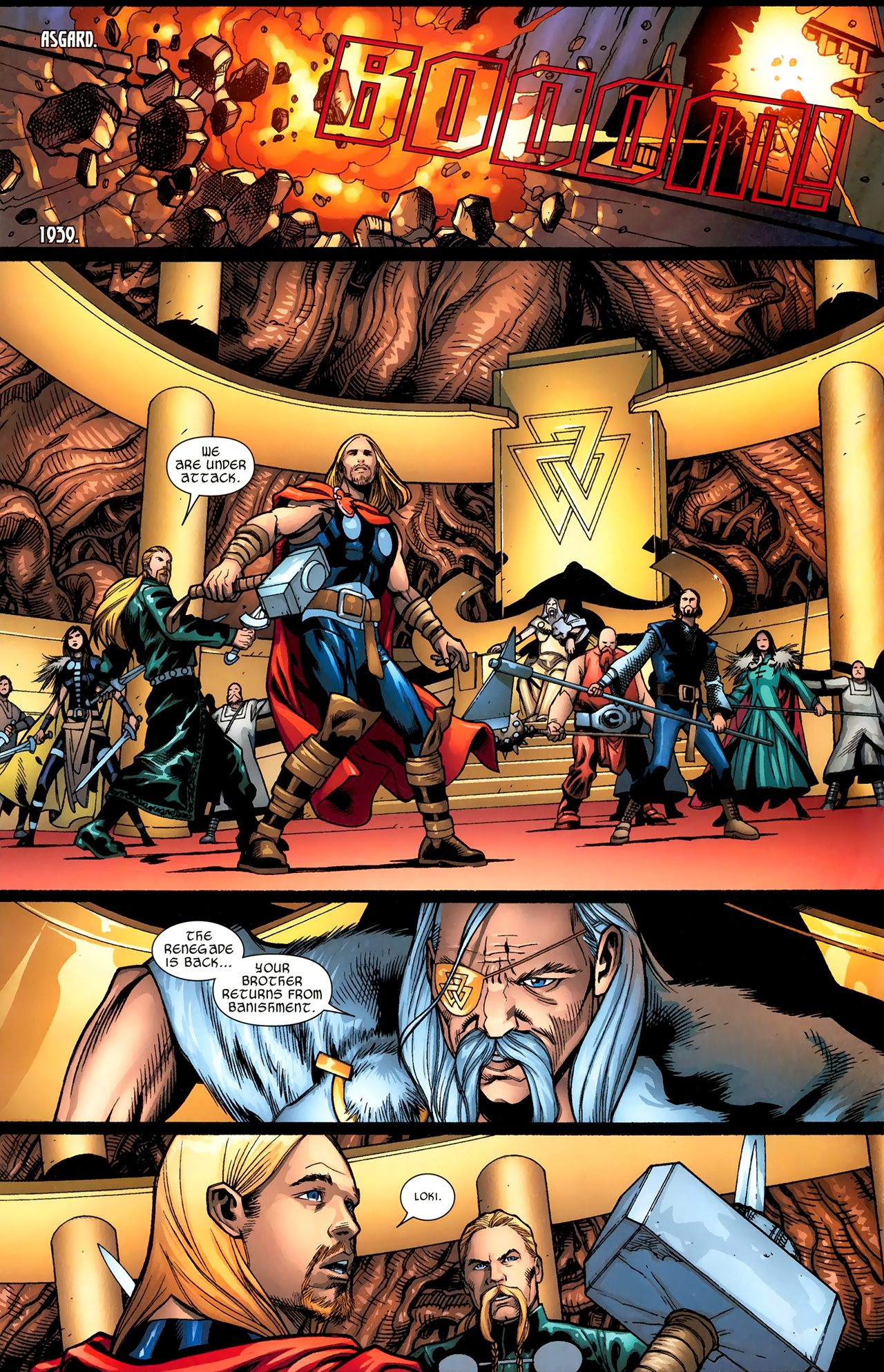Read online Ultimate Thor comic -  Issue #3 - 6