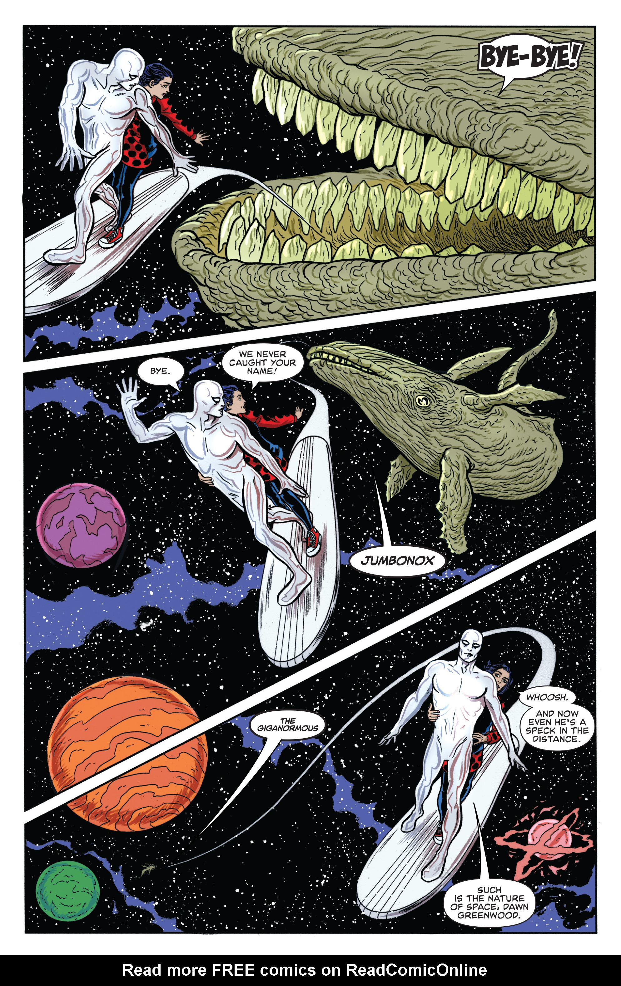 Read online Silver Surfer (2016) comic -  Issue #8 - 15