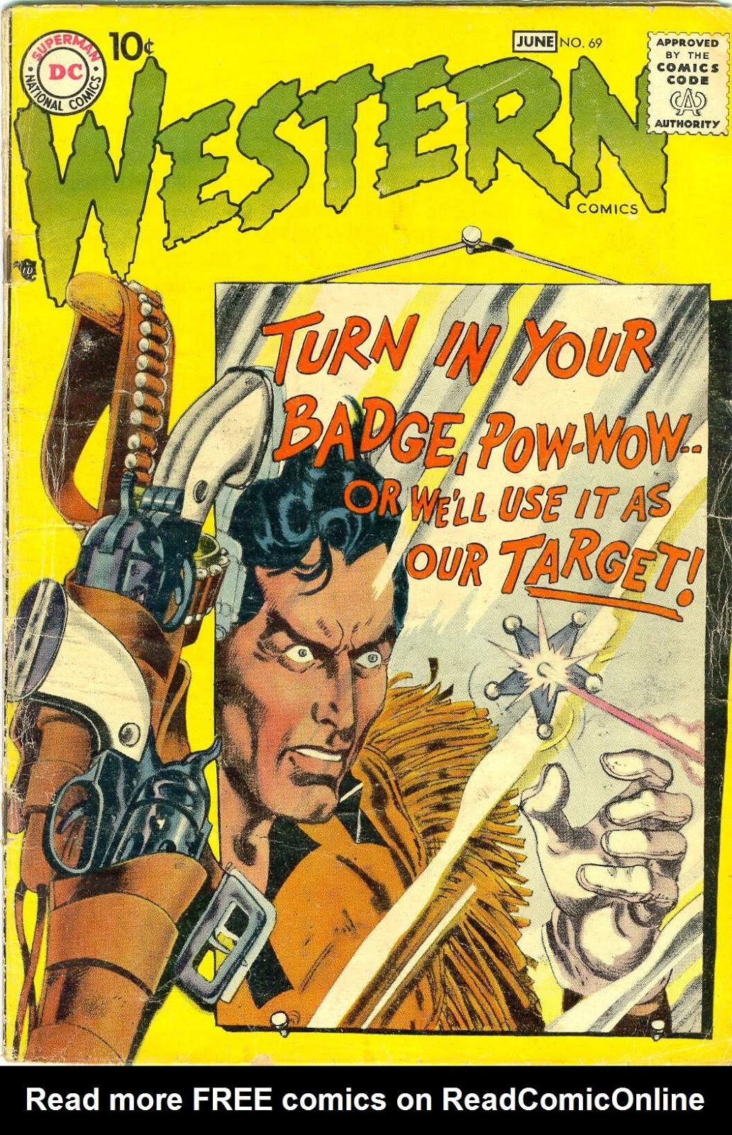 Western Comics 69 Page 1