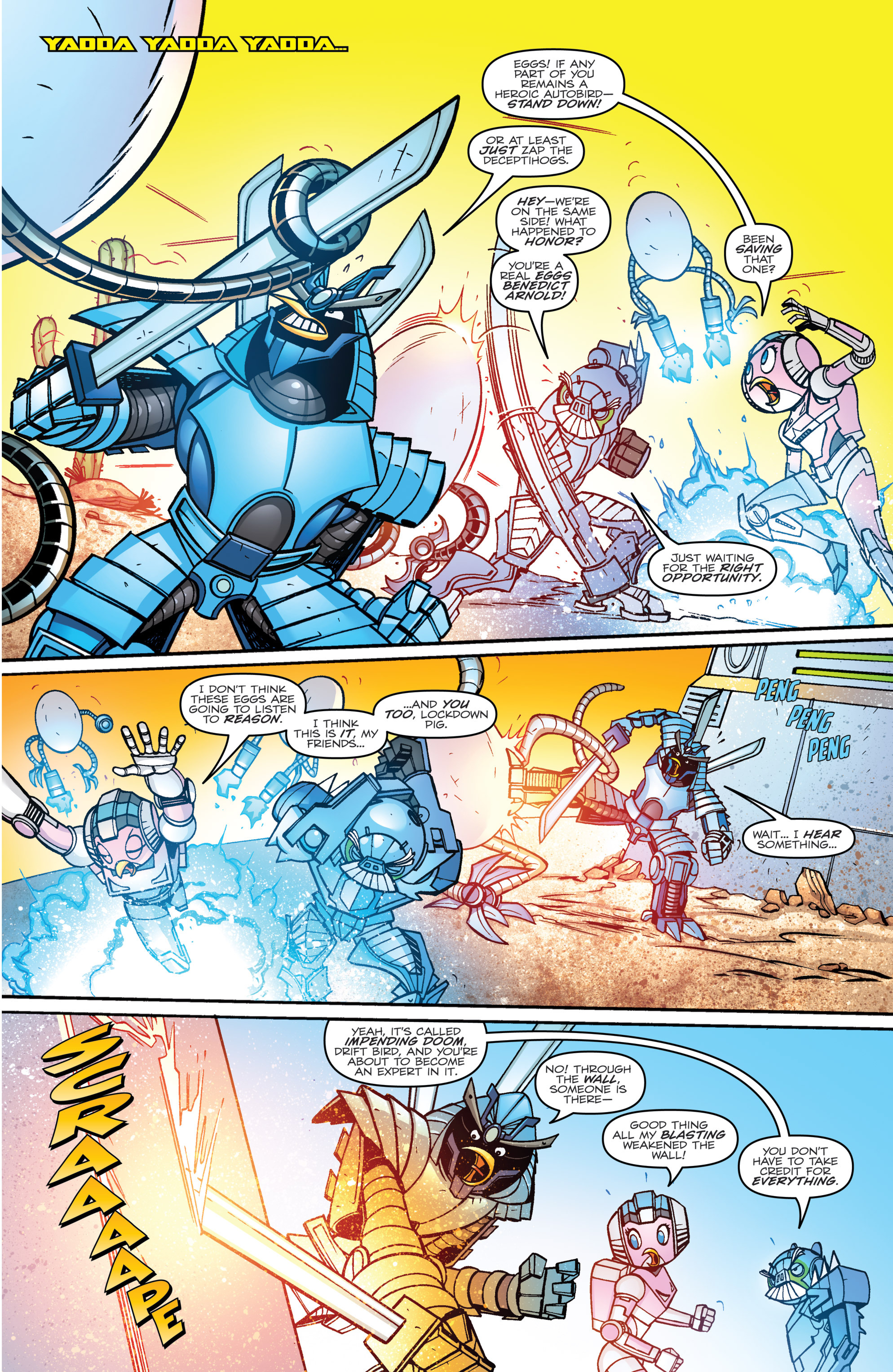 Read online Angry Birds Transformers comic -  Issue #3 - 18