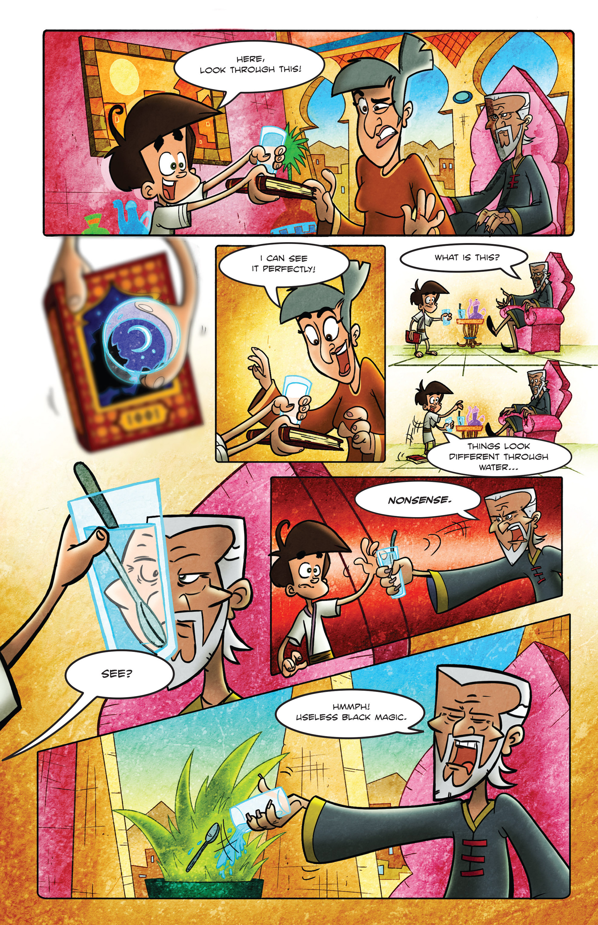 Read online 1001 Nights comic -  Issue #2 - 9