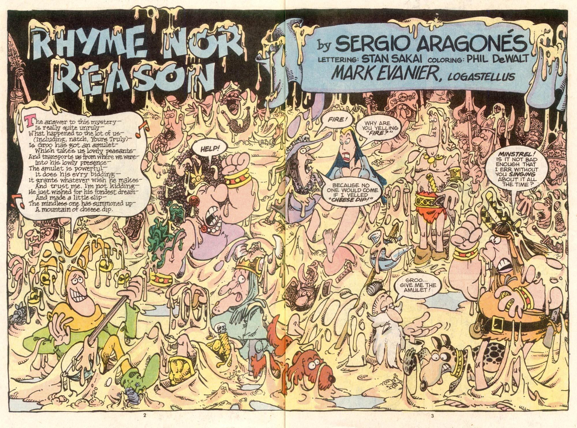 Read online Sergio Aragonés Groo the Wanderer comic -  Issue #36 - 3