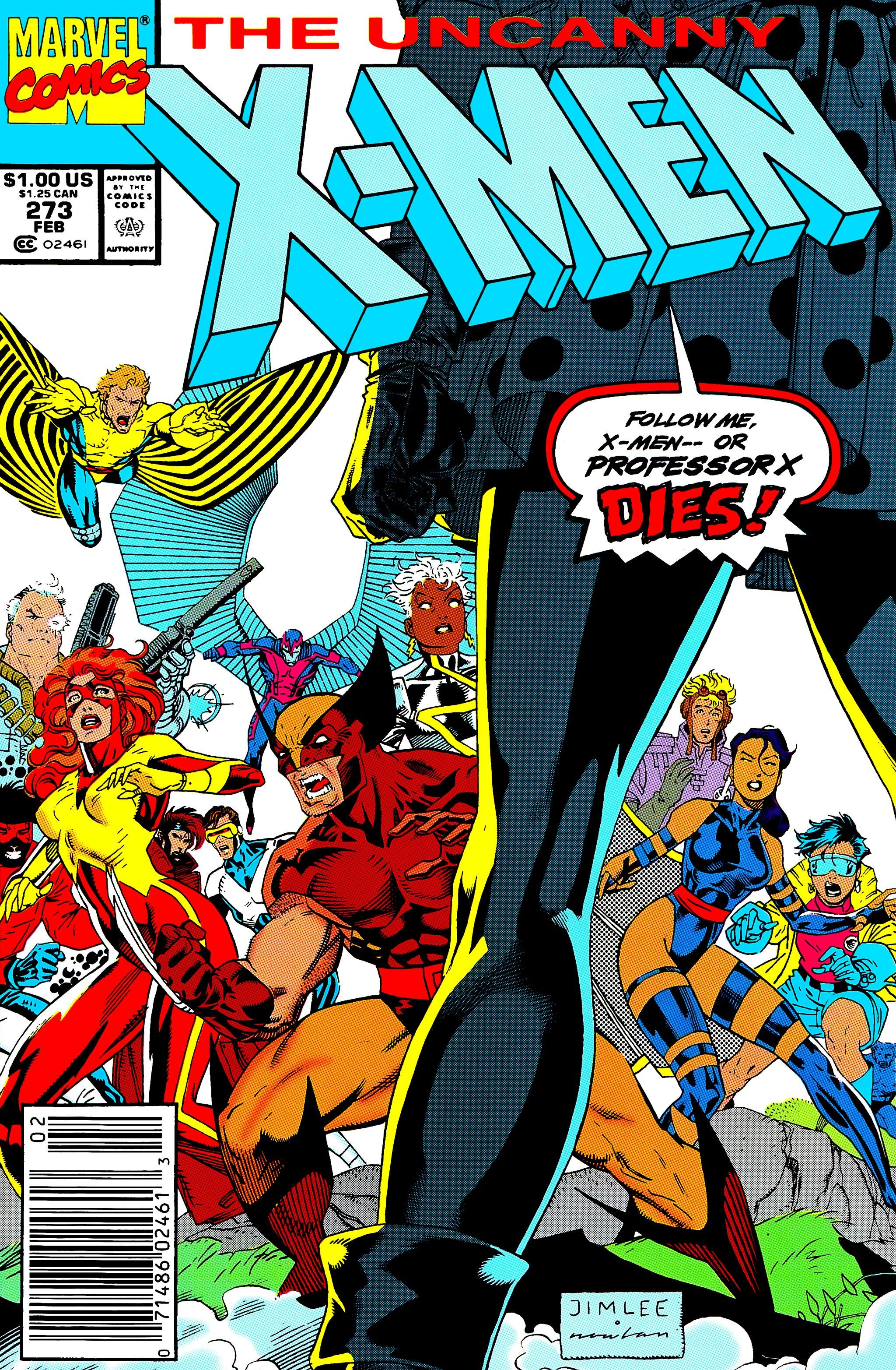 Read online Uncanny X-Men (1963) comic -  Issue #273 - 1