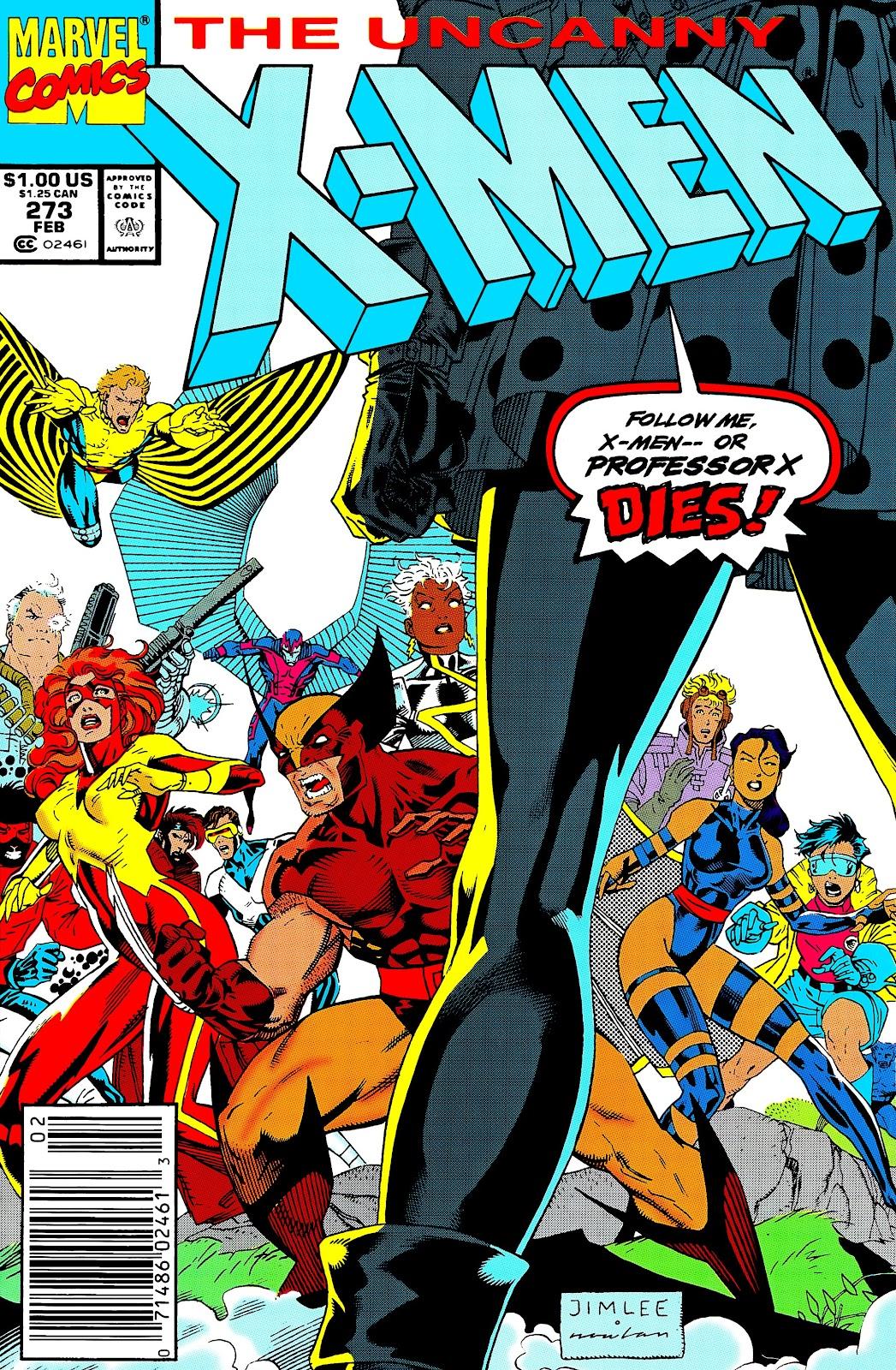 Uncanny X-Men (1963) issue 273 - Page 1