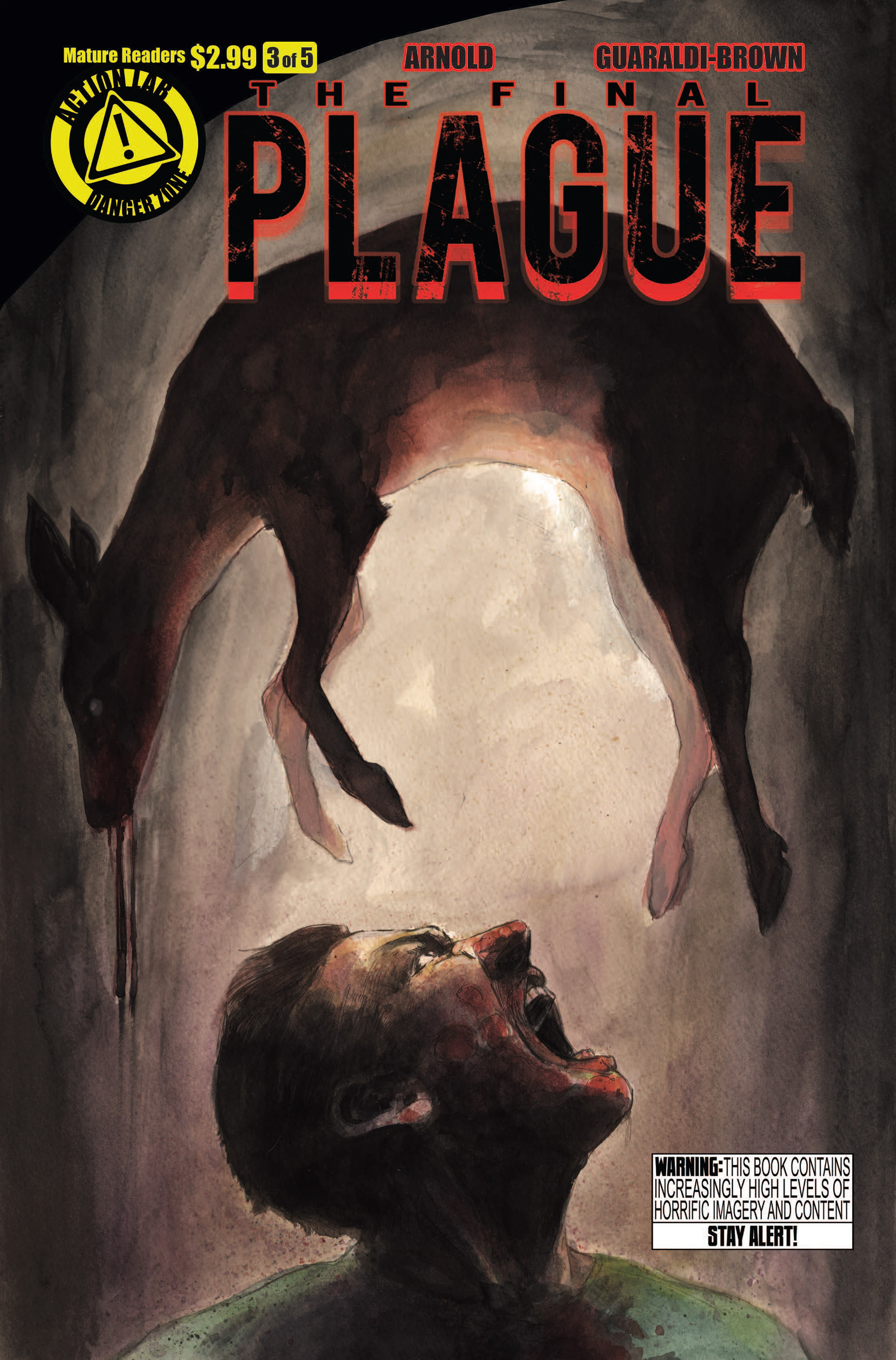 Read online The Final Plague comic -  Issue #3 - 1