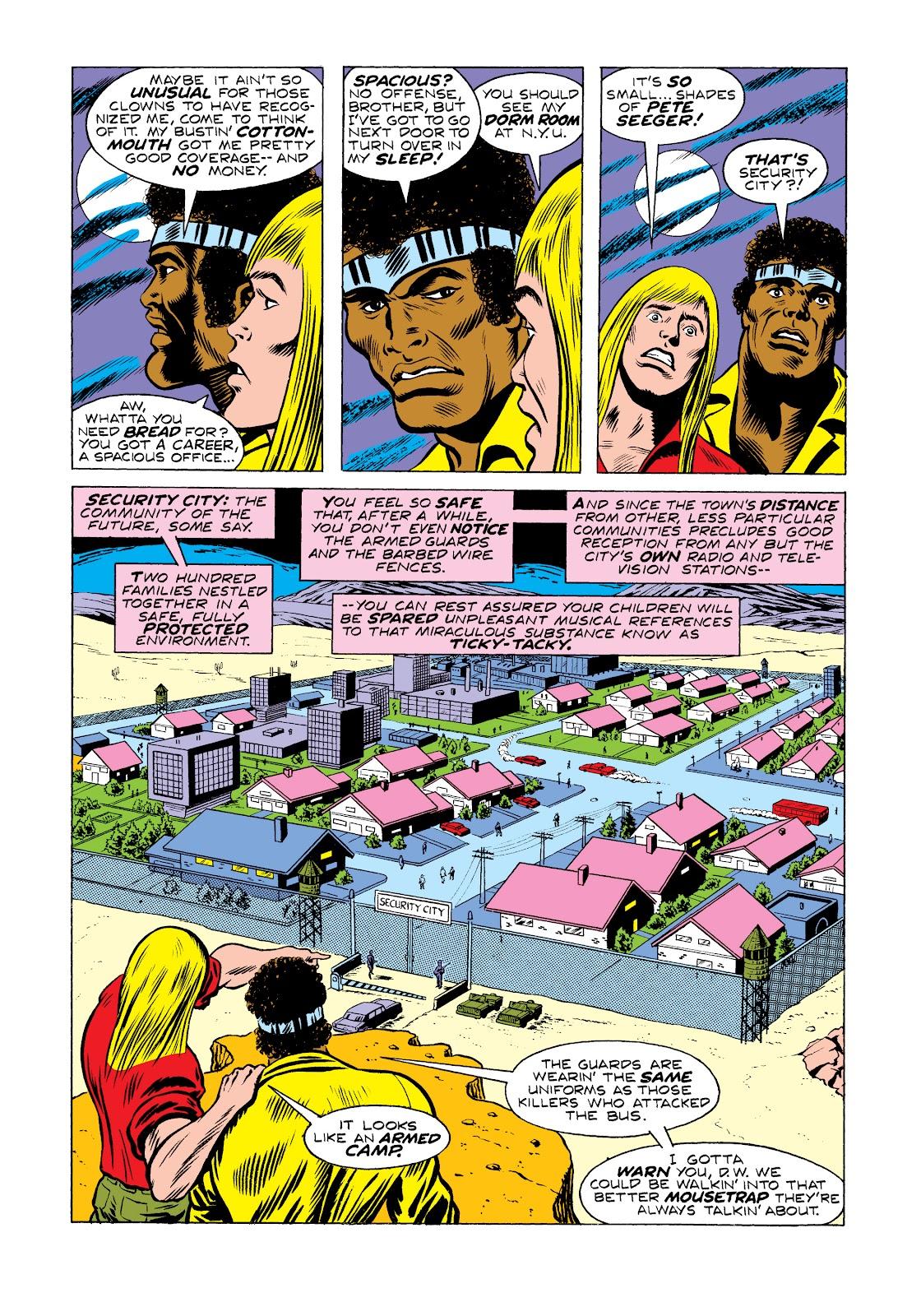 Read online Marvel Masterworks: Luke Cage, Power Man comic -  Issue # TPB 2 (Part 2) - 33