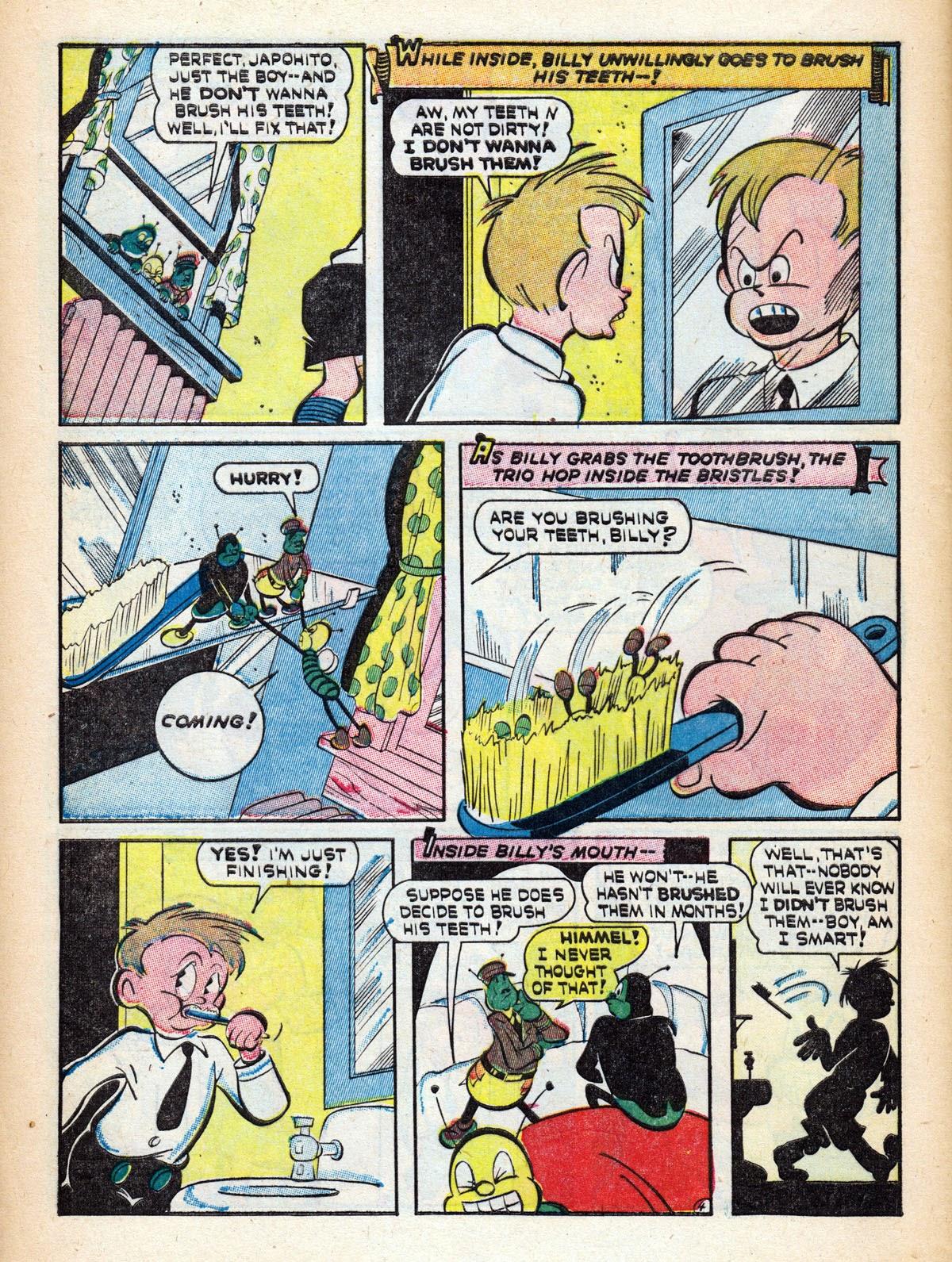 Read online Comedy Comics (1942) comic -  Issue #15 - 48