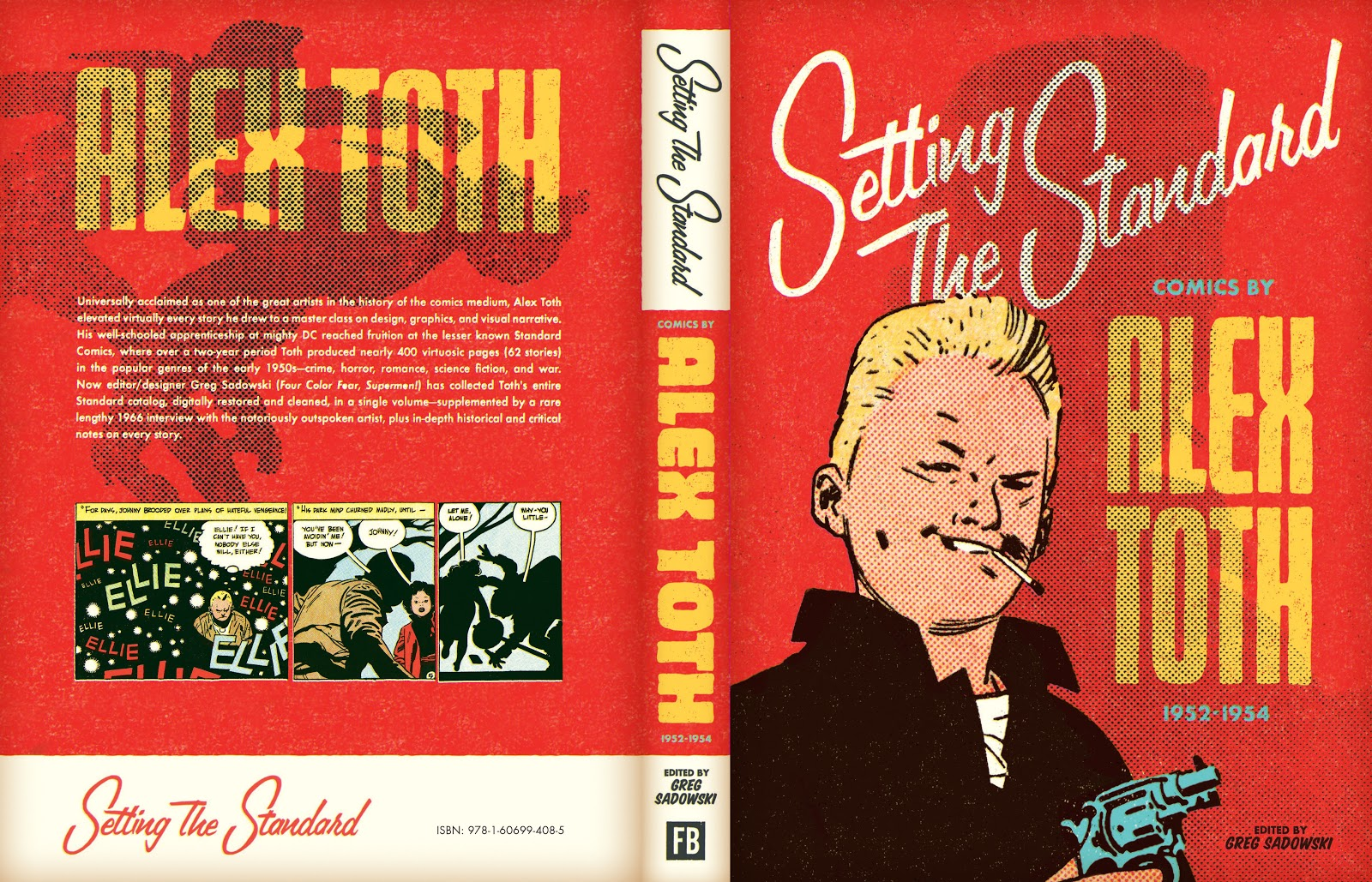 Read online Setting the Standard: Comics by Alex Toth 1952-1954 comic -  Issue # TPB (Part 4) - 134