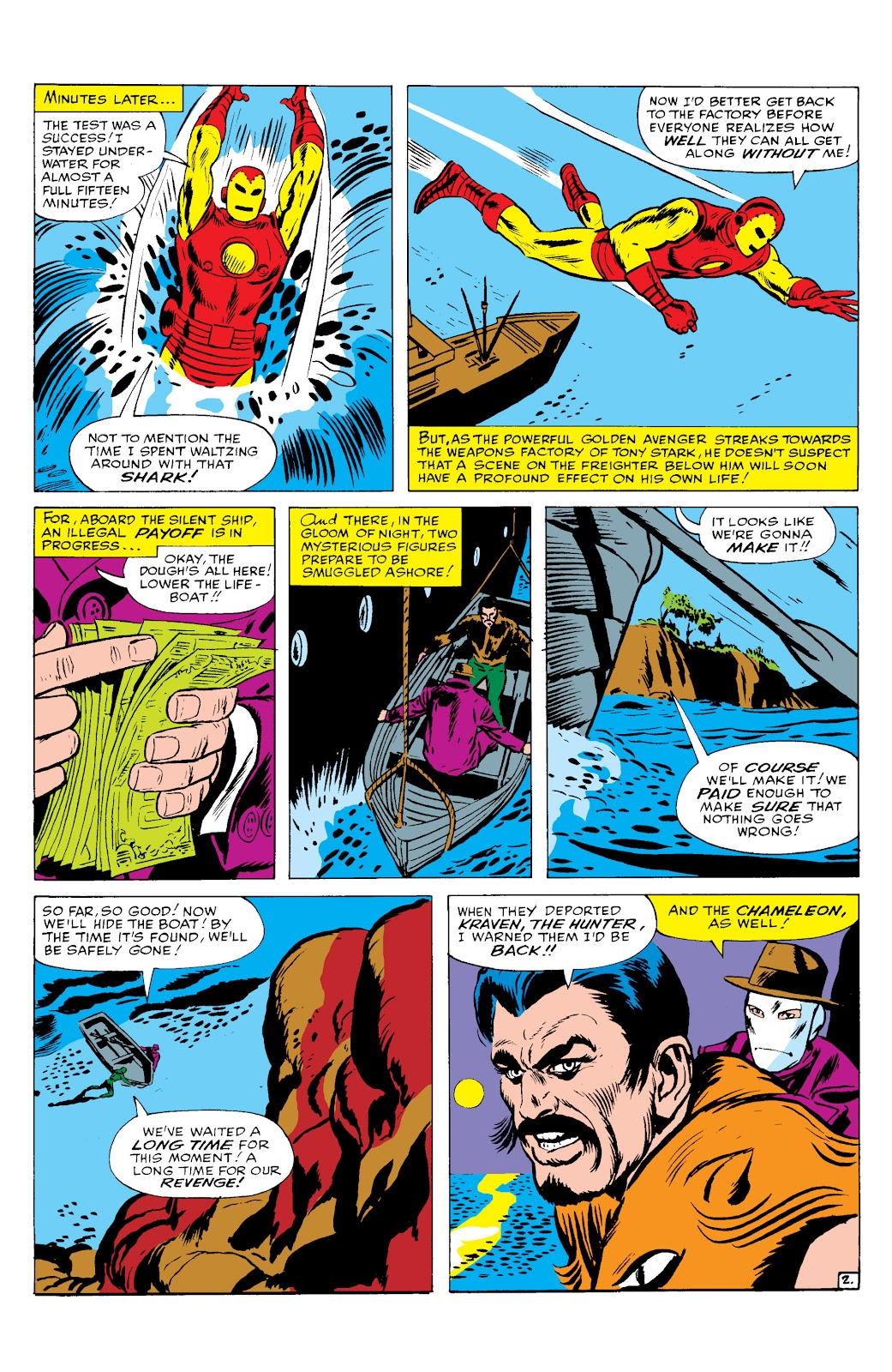 Read online Marvel Masterworks: The Invincible Iron Man comic -  Issue # TPB 2 (Part 2) - 23