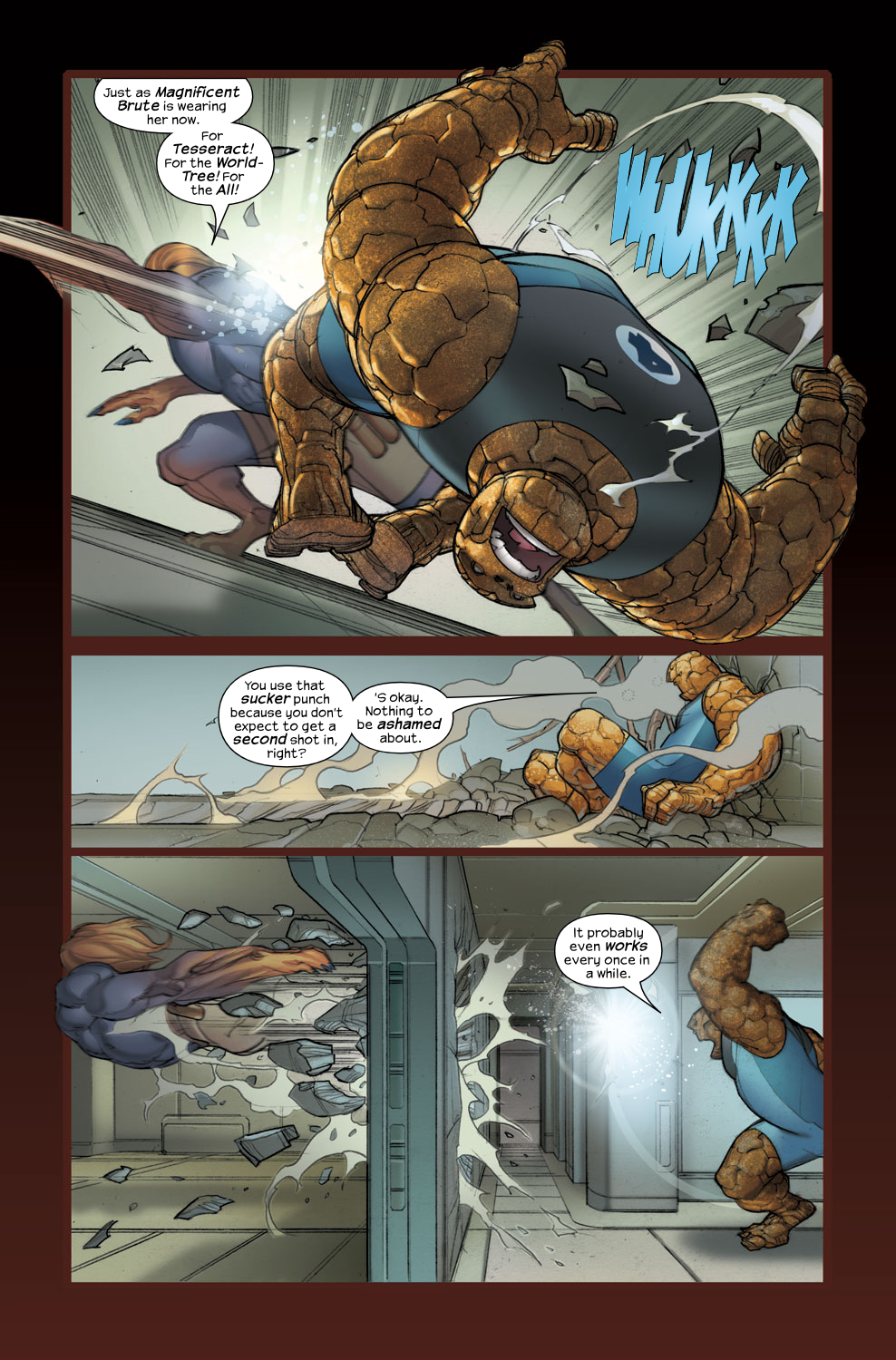 Read online Ultimate Fantastic Four (2004) comic -  Issue #34 - 5