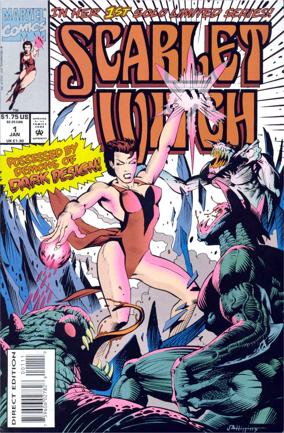 Scarlet Witch (1994) Issue #1 #1 - English 1