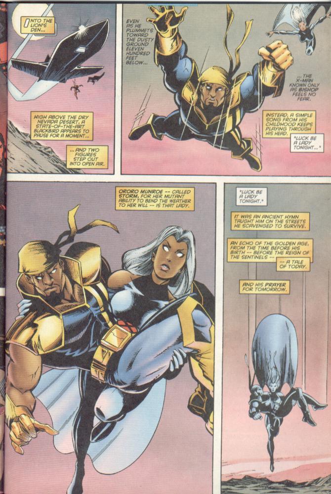 Read online Uncanny X-Men (1963) comic -  Issue # _Annual 1996 - 10