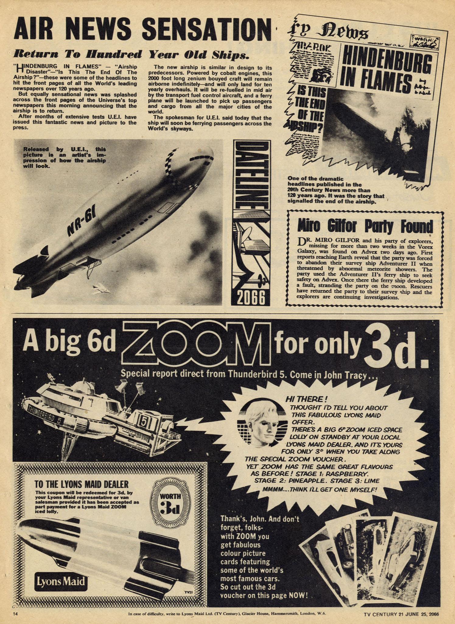 Read online TV Century 21 (TV 21) comic -  Issue #75 - 13