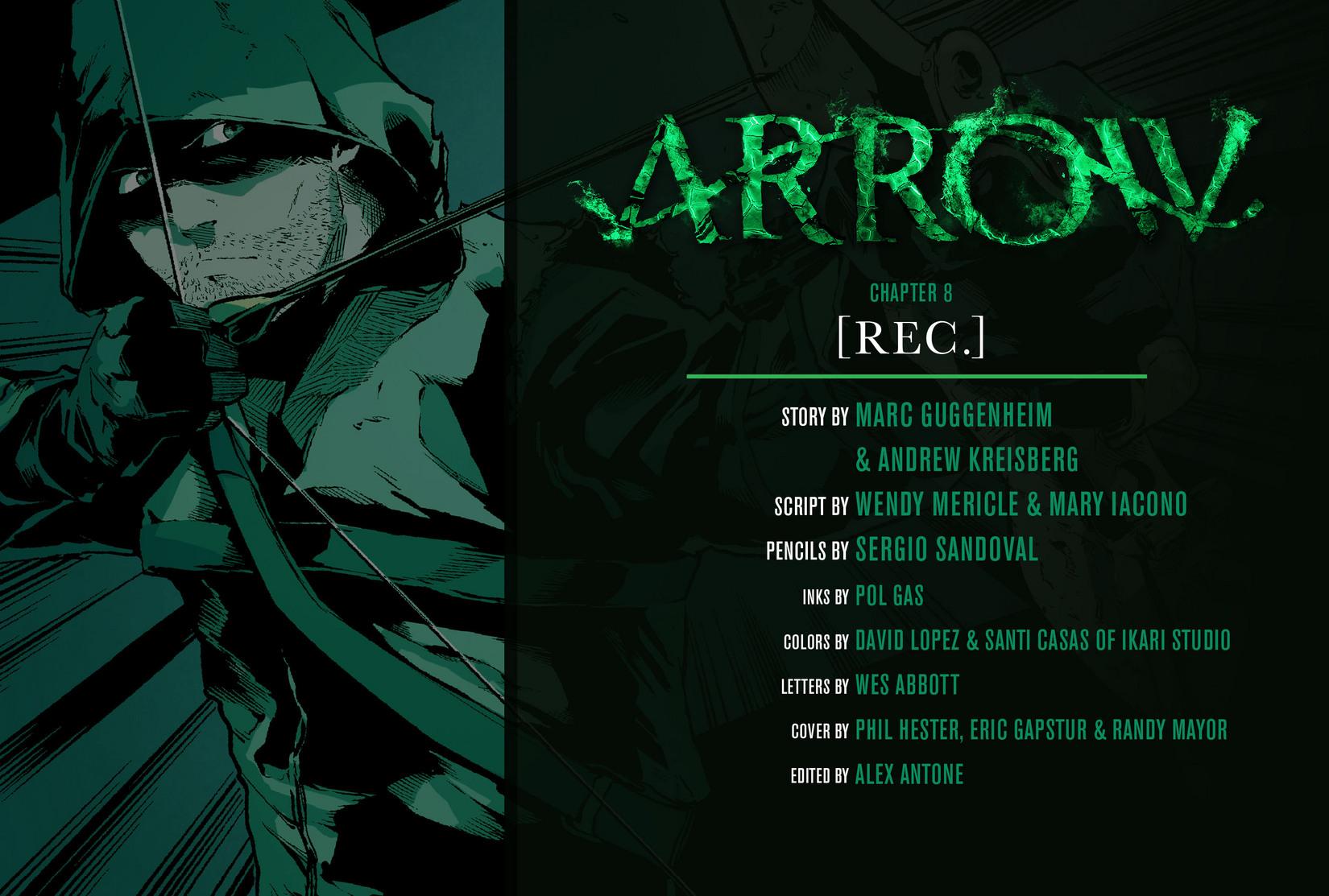 Read online Arrow [II] comic -  Issue #8 - 2