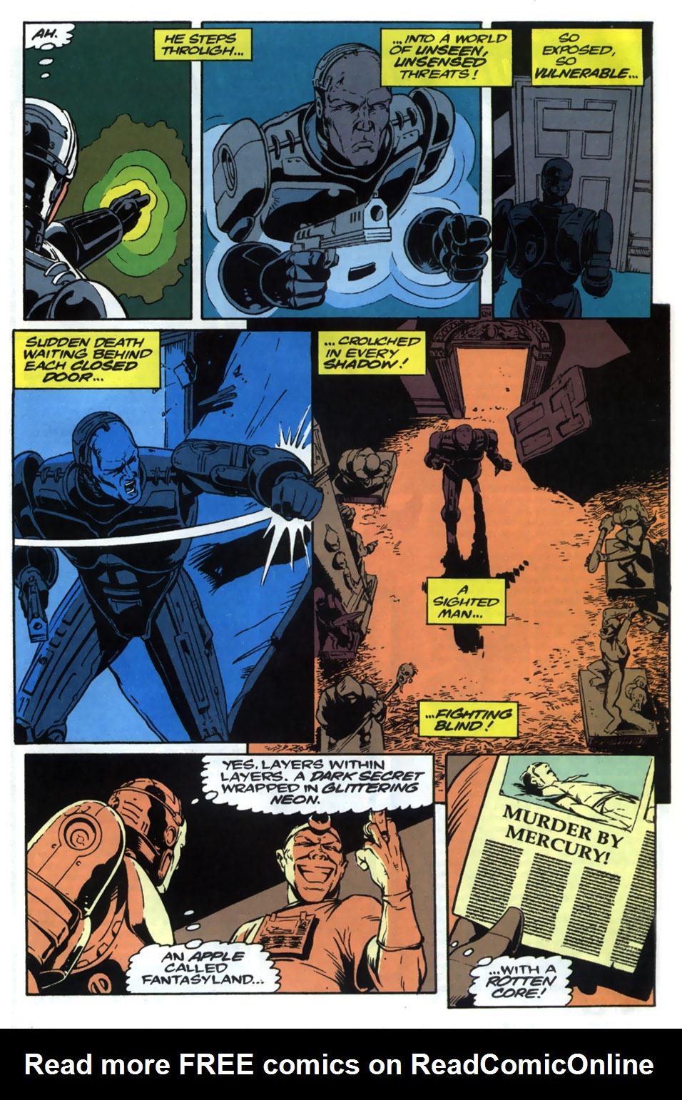 Read online Robocop (1990) comic -  Issue #20 - 20