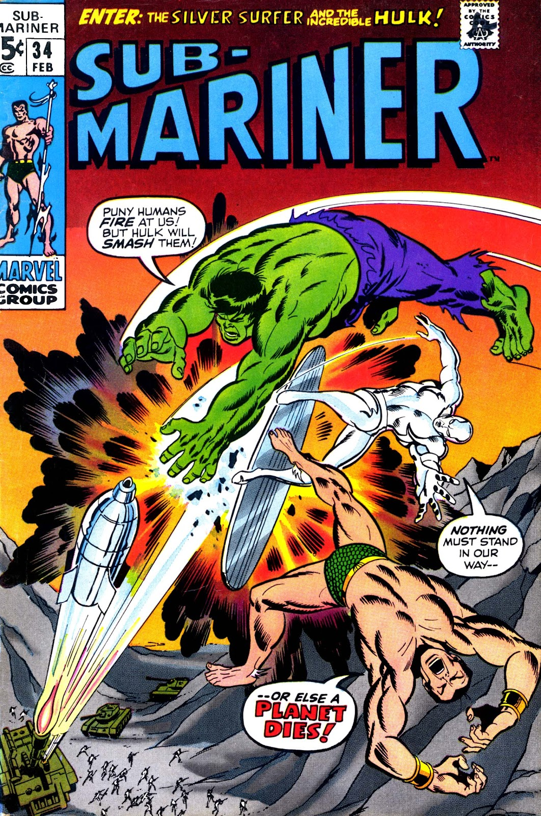The Sub-Mariner 34 Page 1