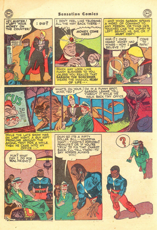 Read online Sensation (Mystery) Comics comic -  Issue #57 - 26