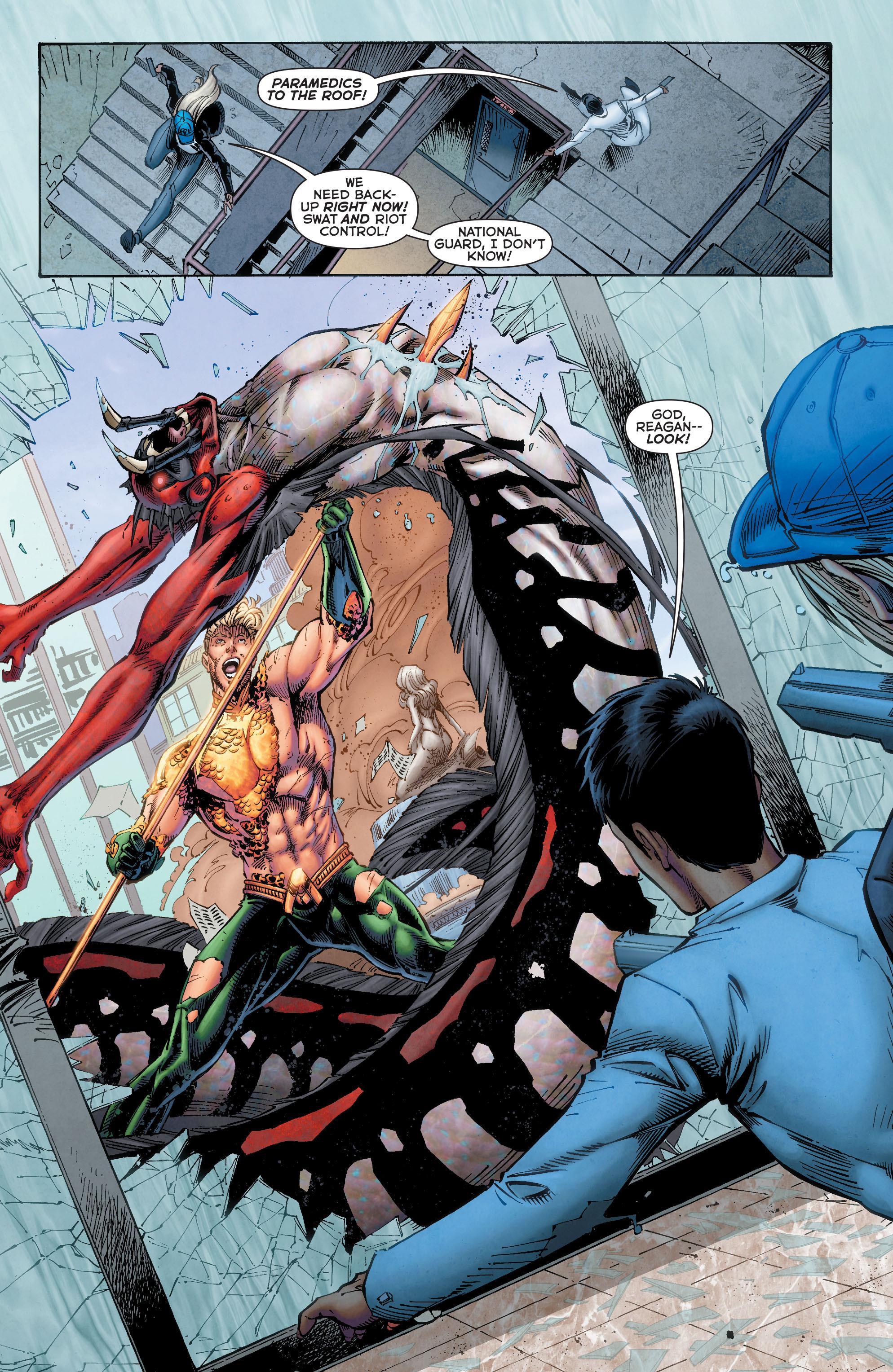 Read online Aquaman (2011) comic -  Issue #50 - 28