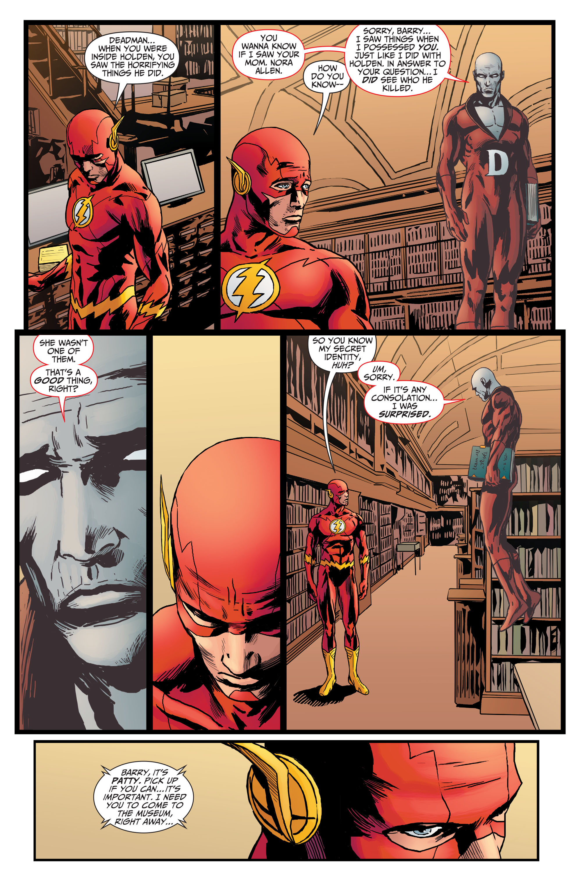 Read online The Flash (2011) comic -  Issue # _TPB 5 - 100