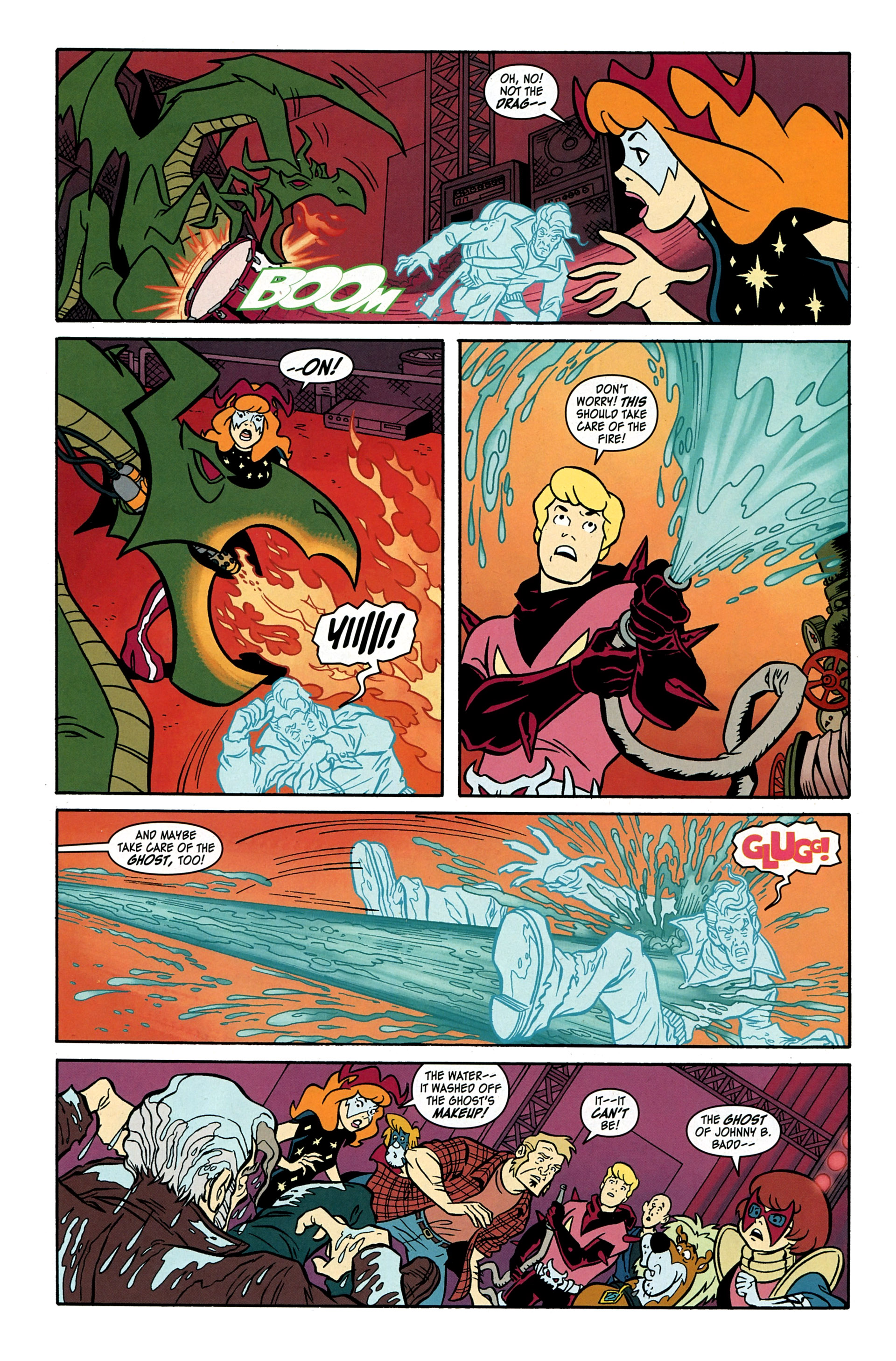 Read online Scooby-Doo: Where Are You? comic -  Issue #33 - 12