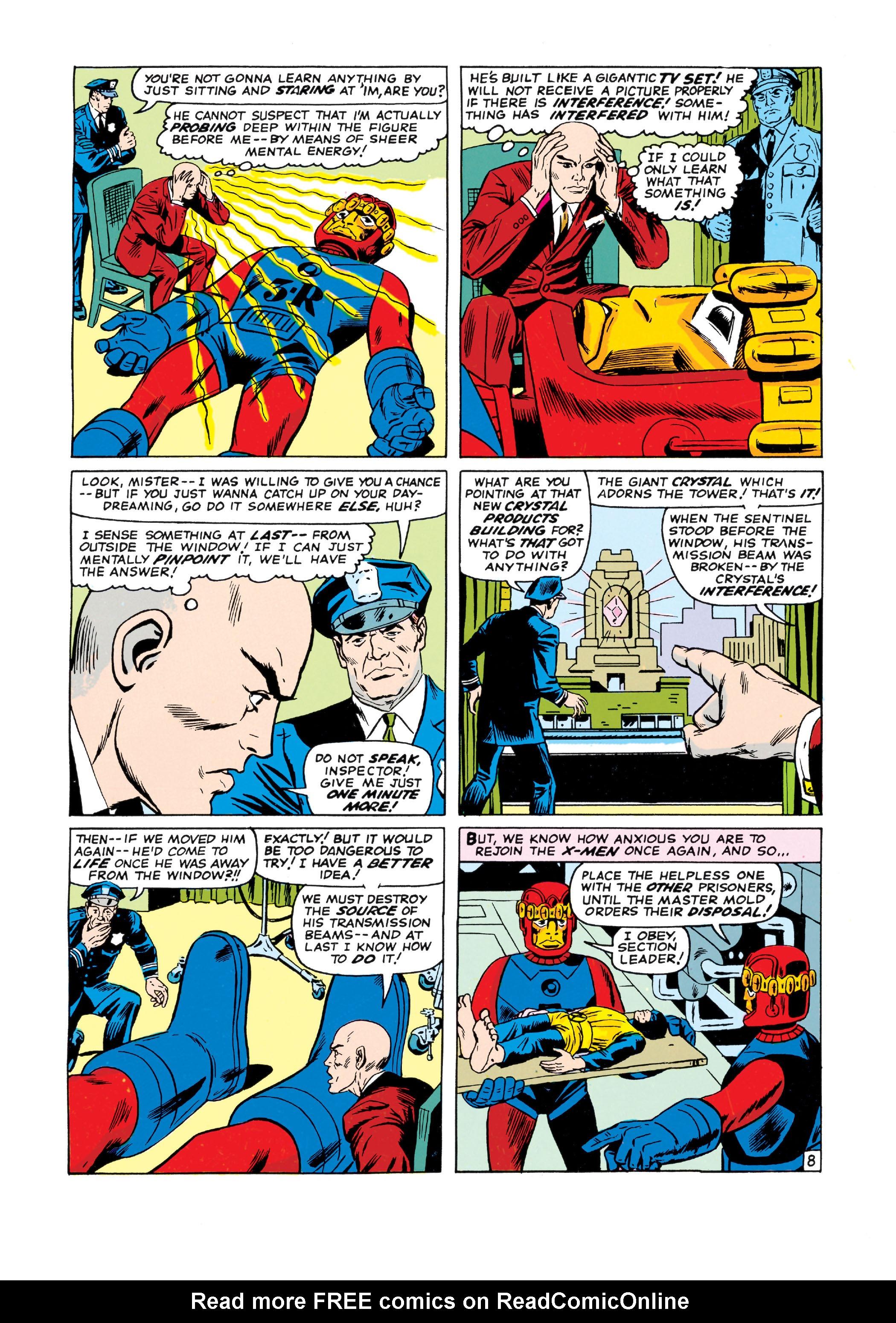 Read online Uncanny X-Men (1963) comic -  Issue #16 - 9