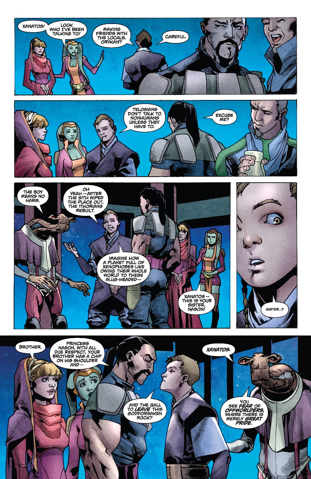 Read online Star Wars Legends: Rise of the Sith - Epic Collection comic -  Issue # TPB 1 (Part 2) - 28