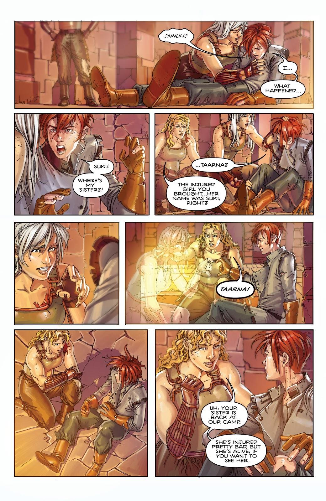 Read online Taarna comic -  Issue #4 - 24