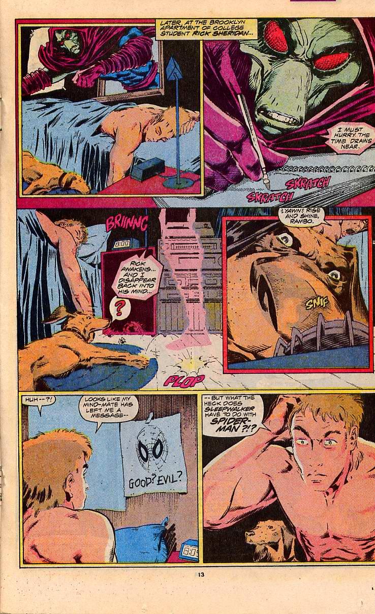 Read online Sleepwalker comic -  Issue #5 - 11