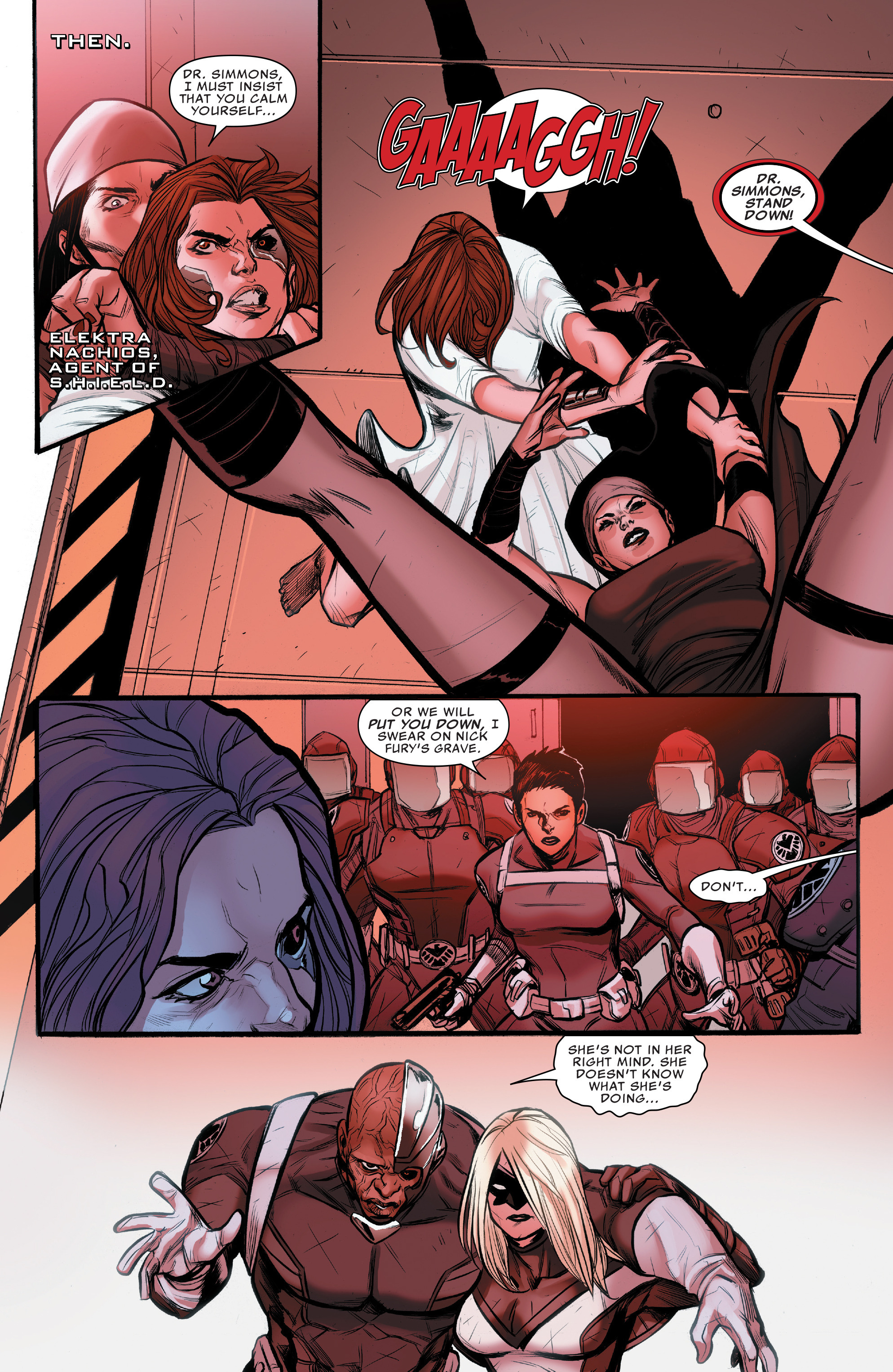 Read online Agents of S.H.I.E.L.D. comic -  Issue #10 - 13