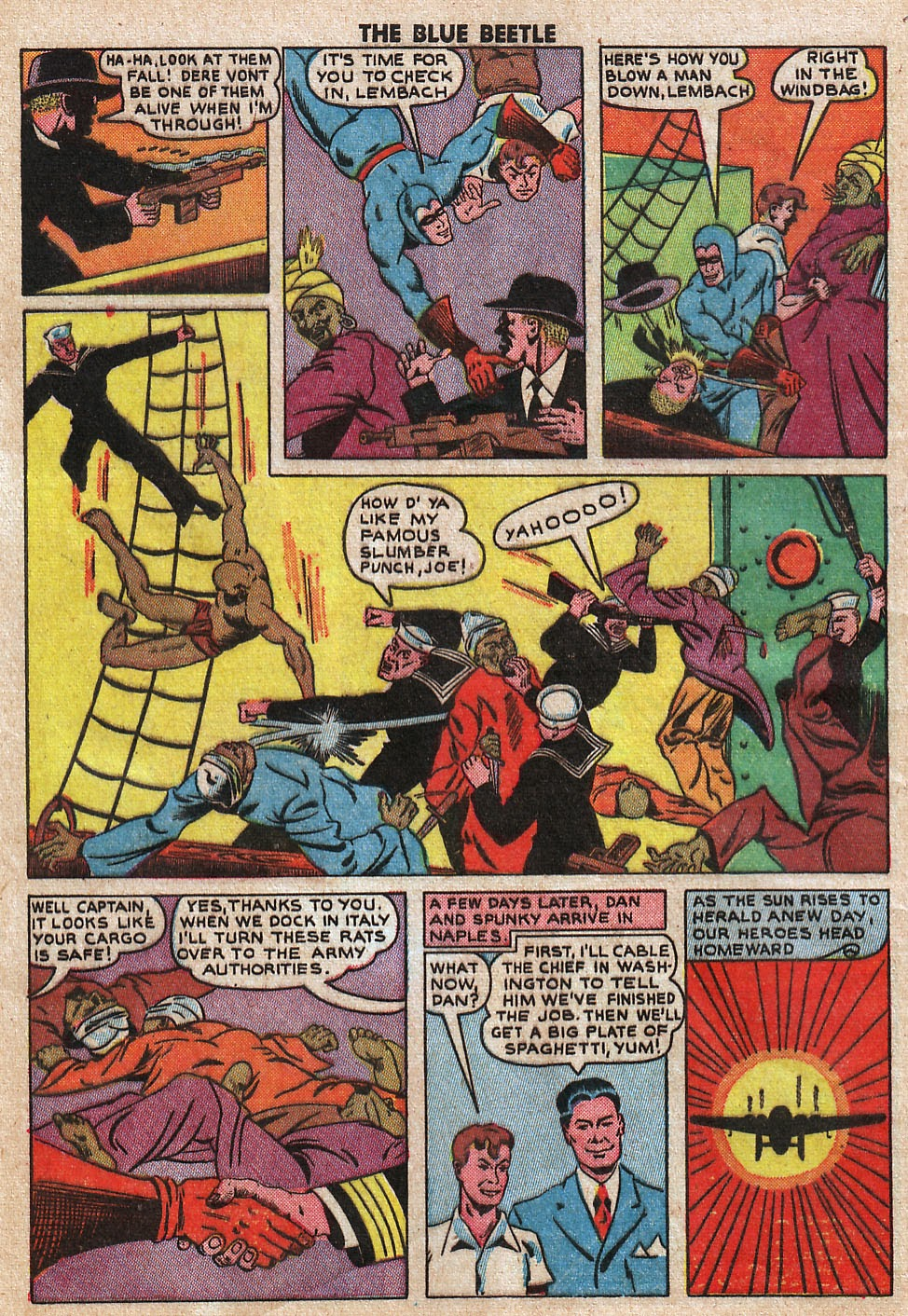 The Blue Beetle issue 33 - Page 12