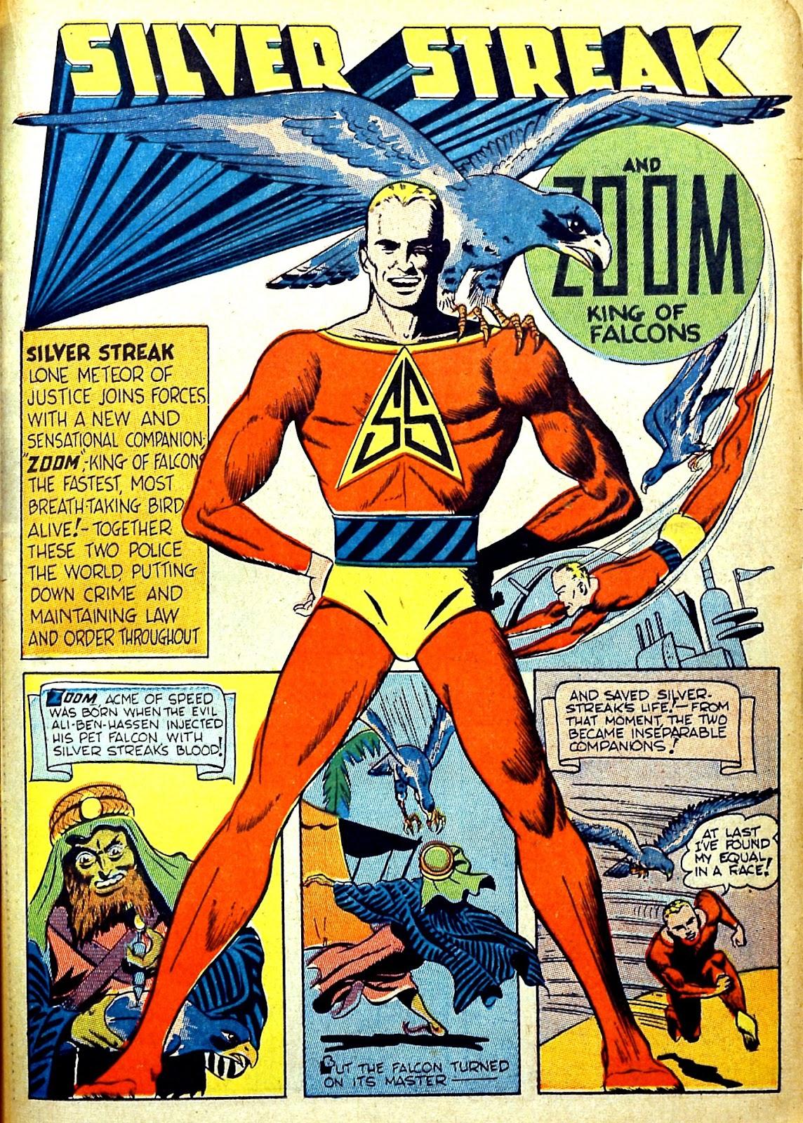 Read online Silver Streak Comics comic -  Issue #22 - 33