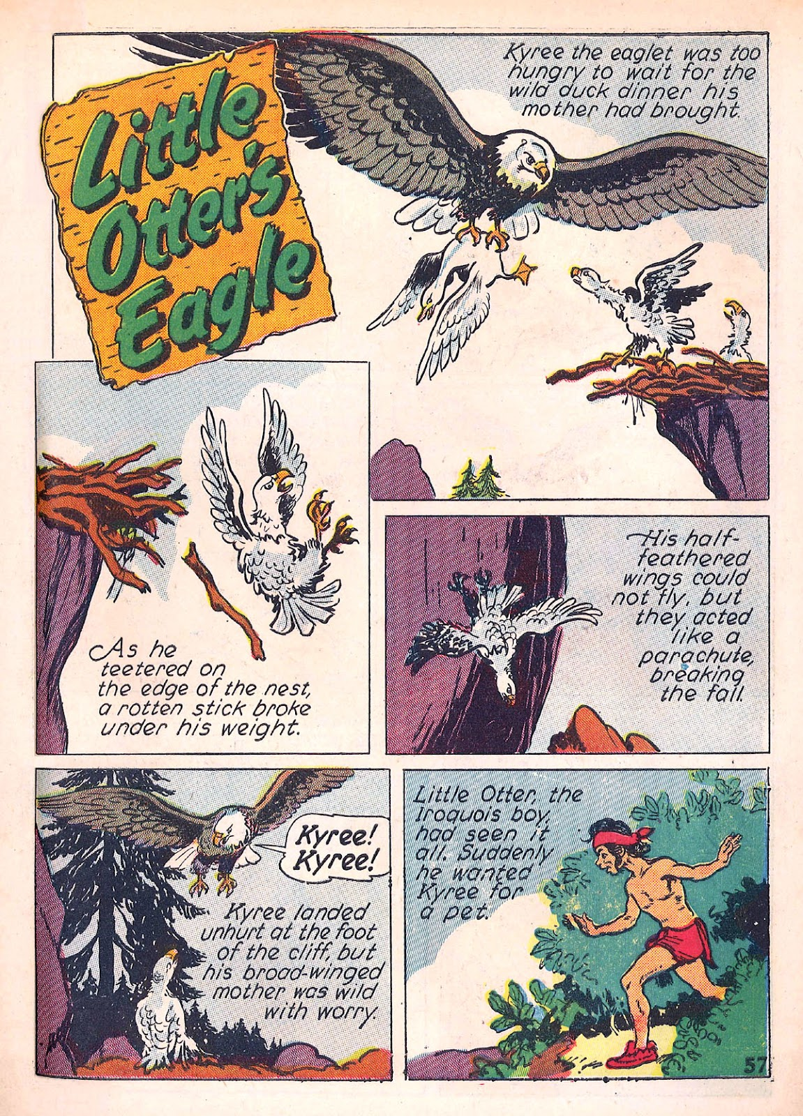 Read online Animal Comics comic -  Issue #4 - 60