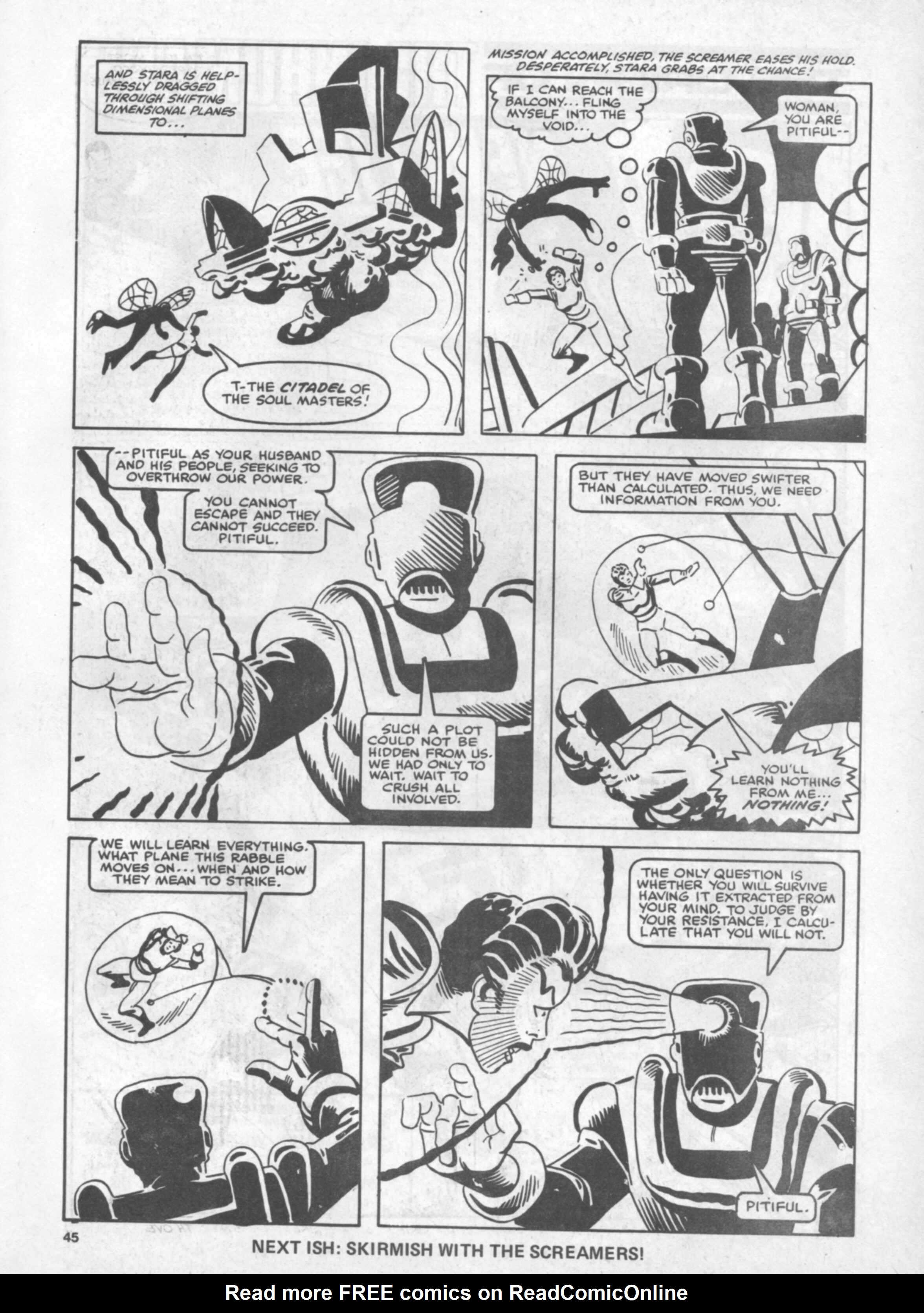 Read online Future Tense comic -  Issue #40 - 45
