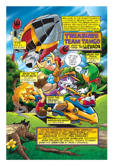 Read online Sonic Comics Spectacular: Speed of Sound comic -  Issue # Full - 170