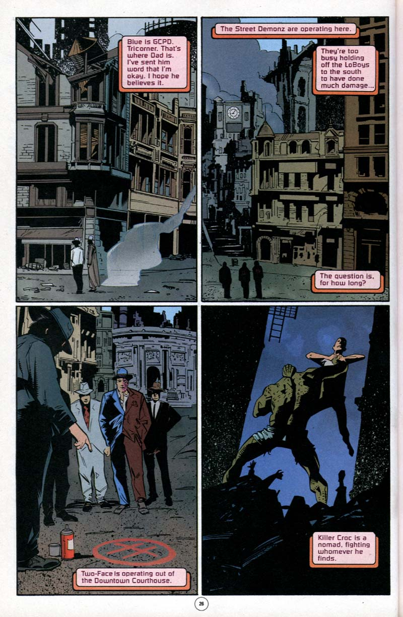 Read online Batman: No Man's Land comic -  Issue #1 - 21