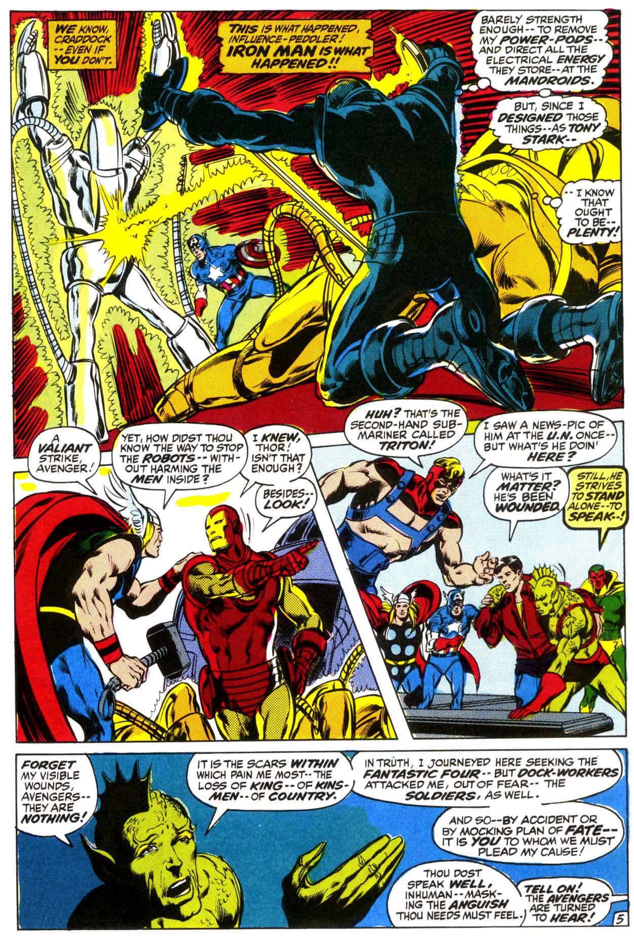 The Avengers (1963) 95 Page 5