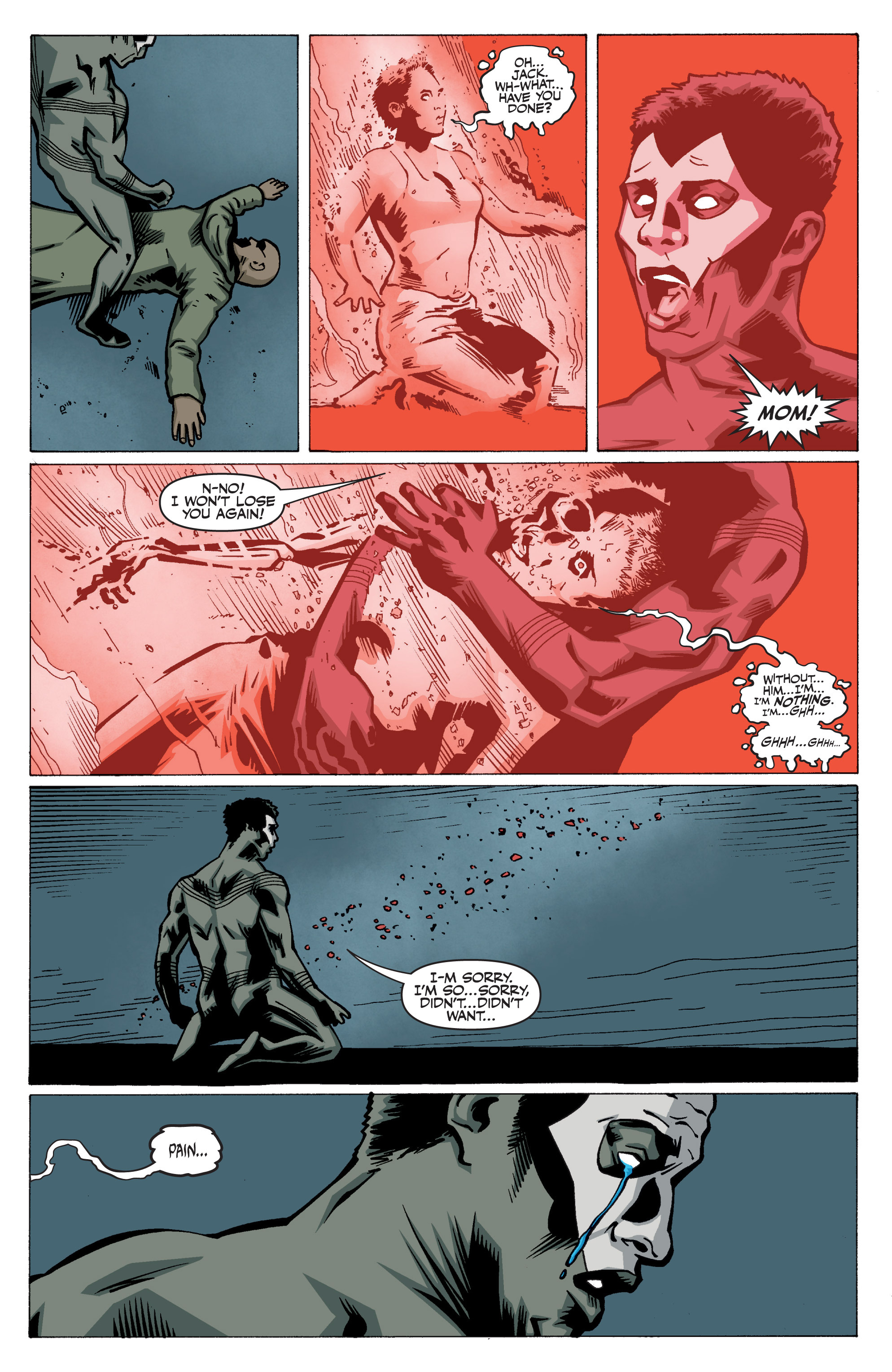 Read online Shadowman: End Times comic -  Issue #3 - 25