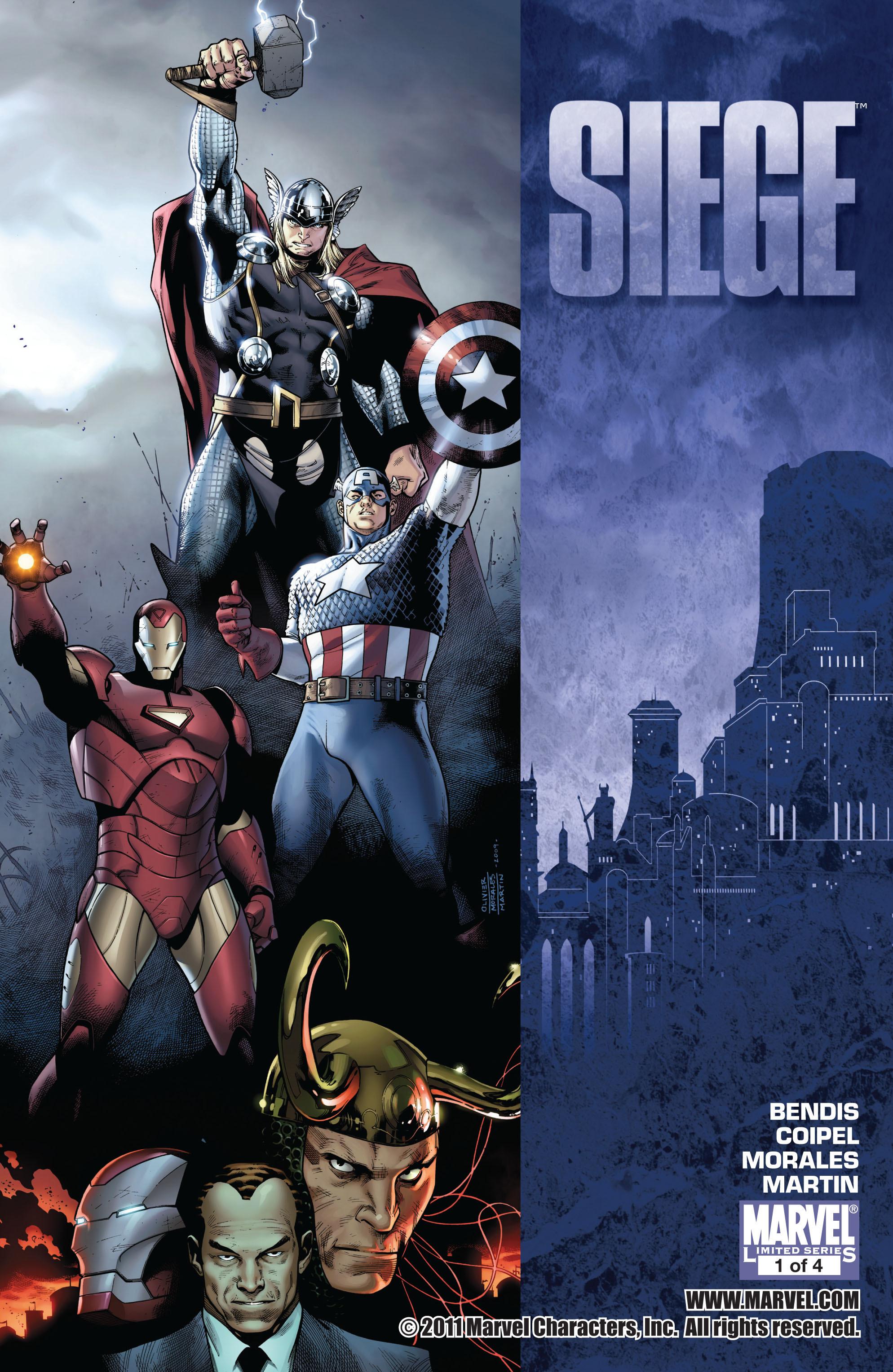 Read online Siege (2010) comic -  Issue #1 - 1