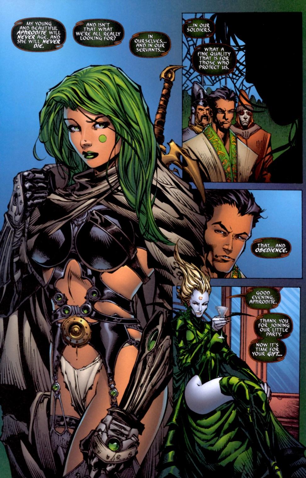 Read online Aphrodite IX (2000) comic -  Issue #4 - 27