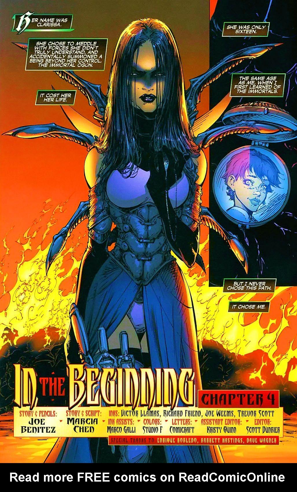 Read online Wraithborn comic -  Issue #4 - 3
