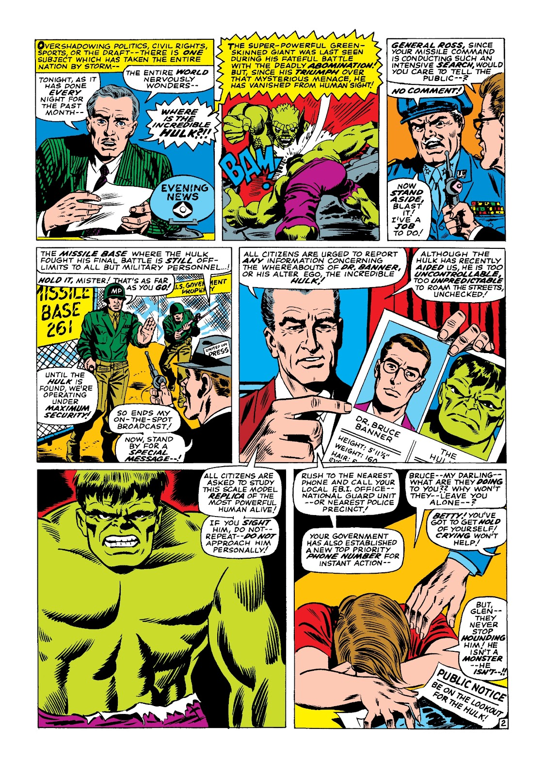 Read online Marvel Masterworks: The Incredible Hulk comic -  Issue # TPB 3 (Part 2) - 41