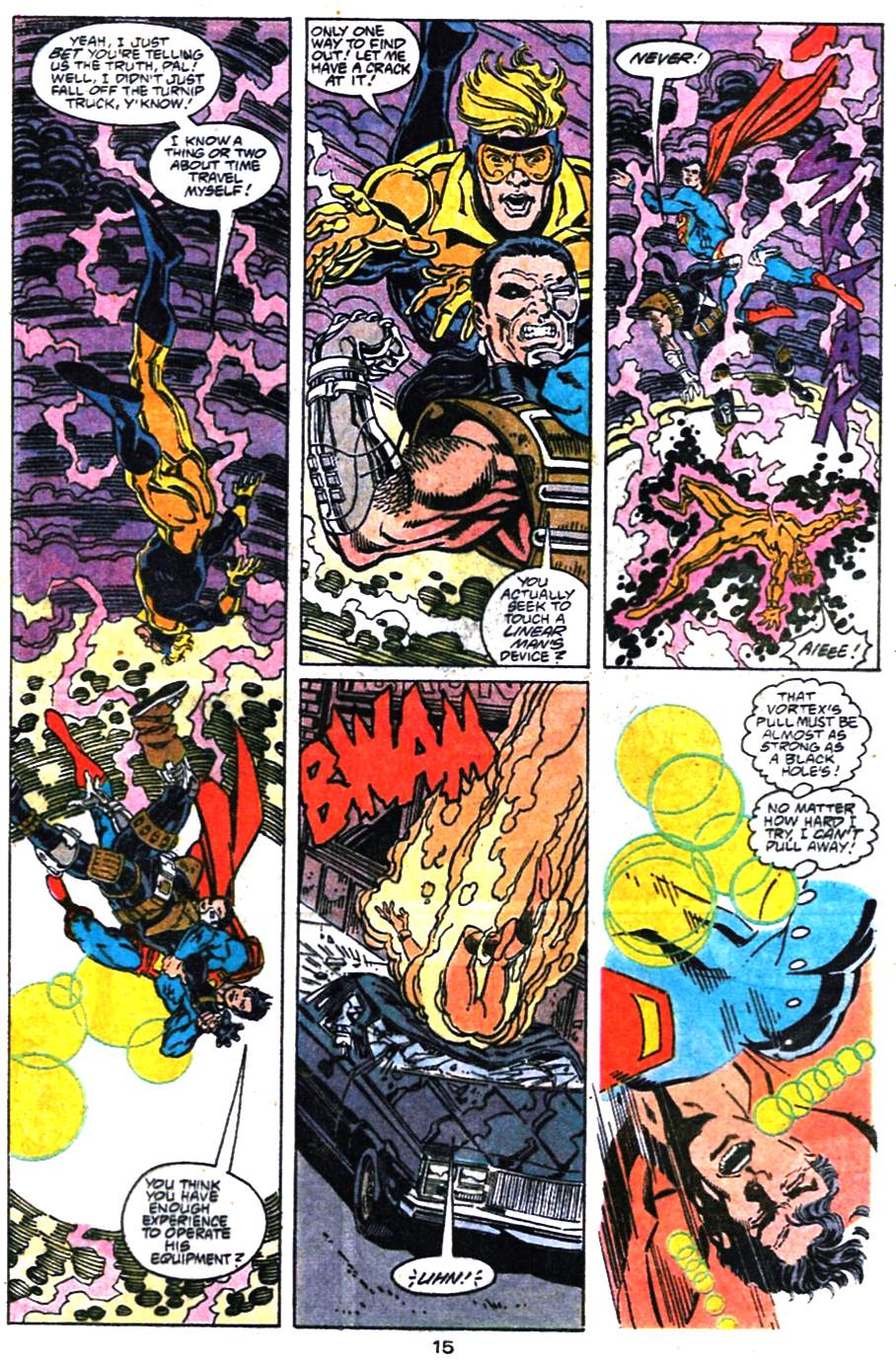 Read online Adventures of Superman (1987) comic -  Issue #476 - 16
