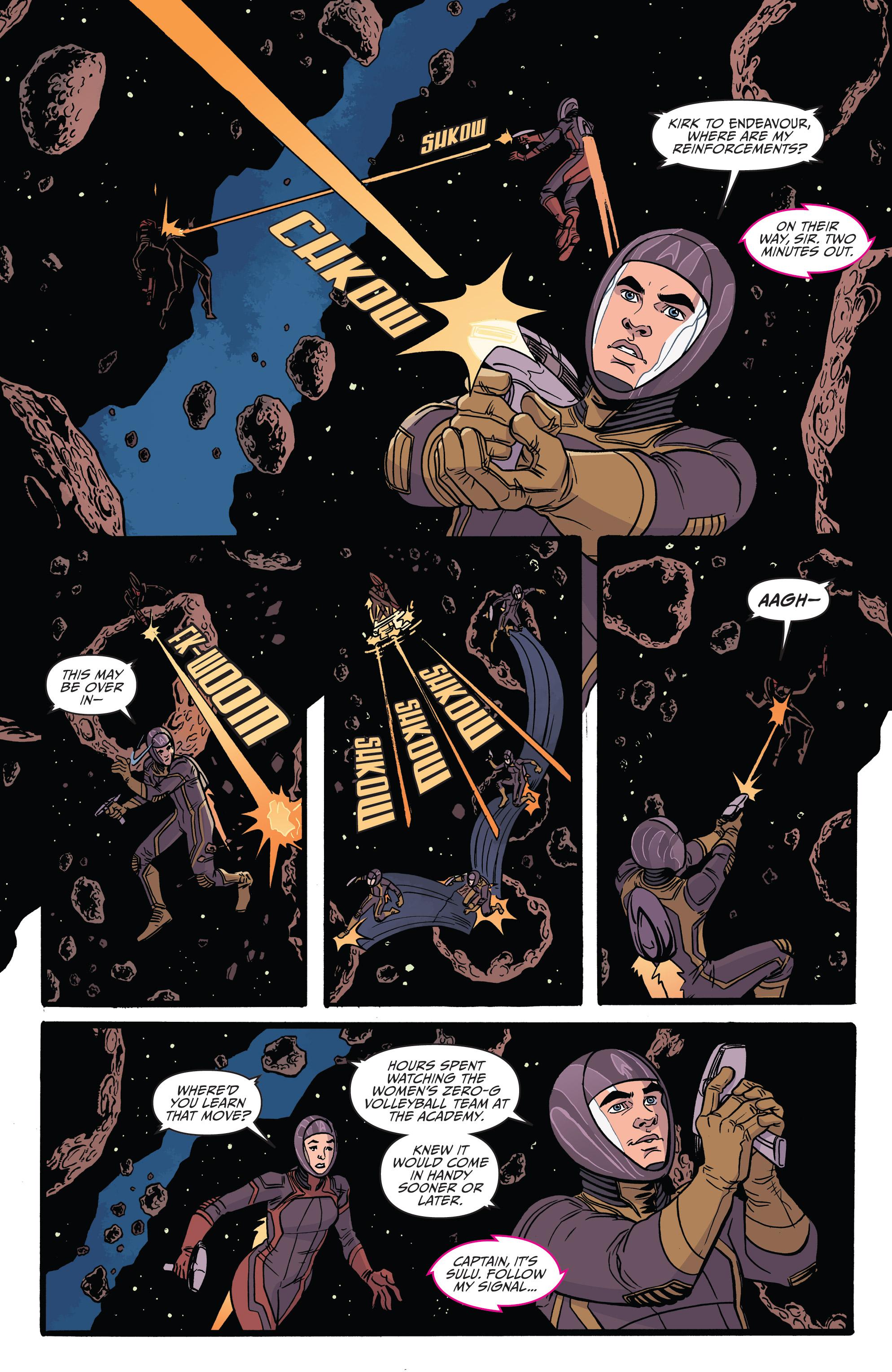 Read online Star Trek: Boldly Go comic -  Issue #8 - 9