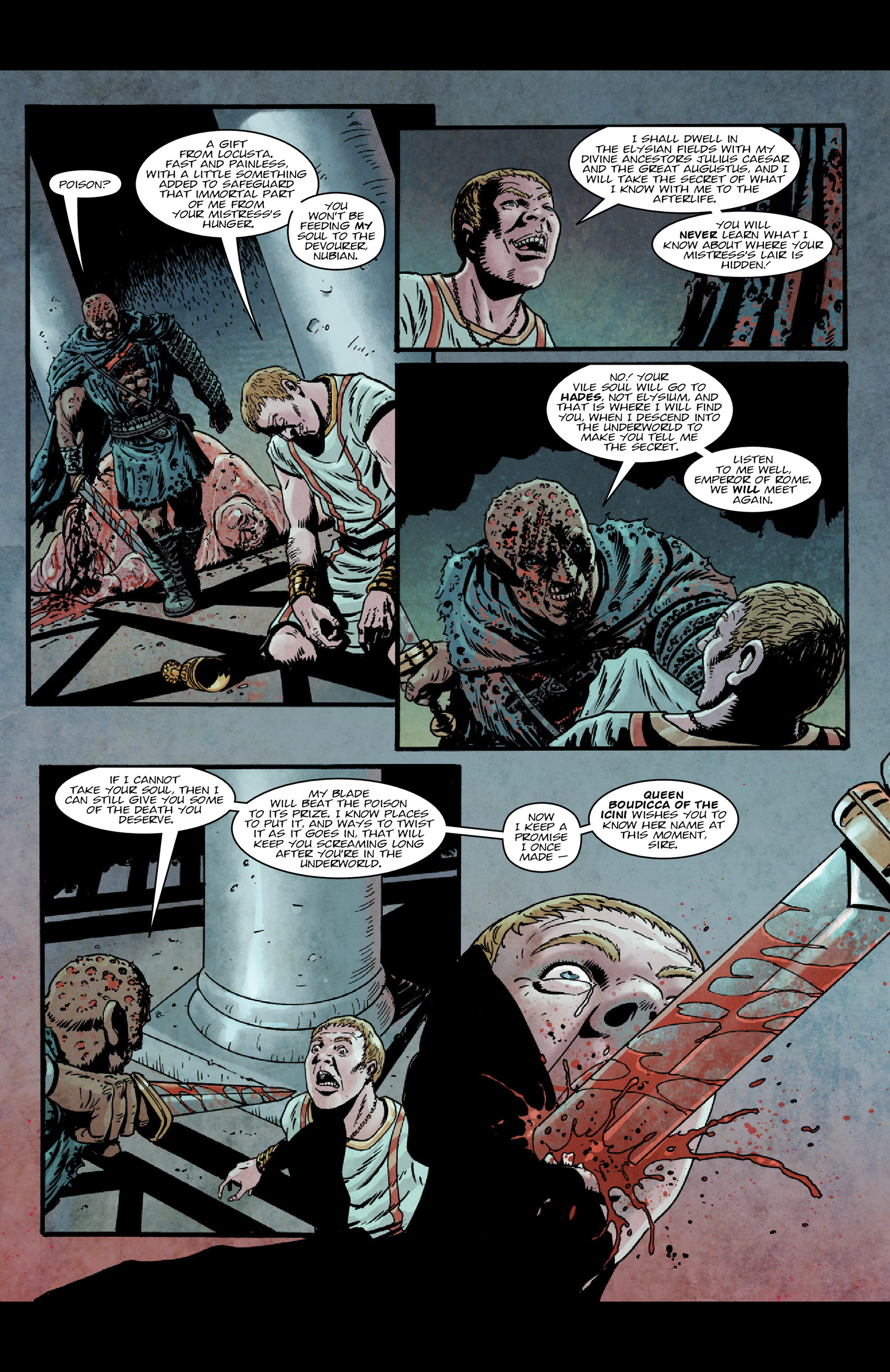 Read online Aquila comic -  Issue #5 - 26