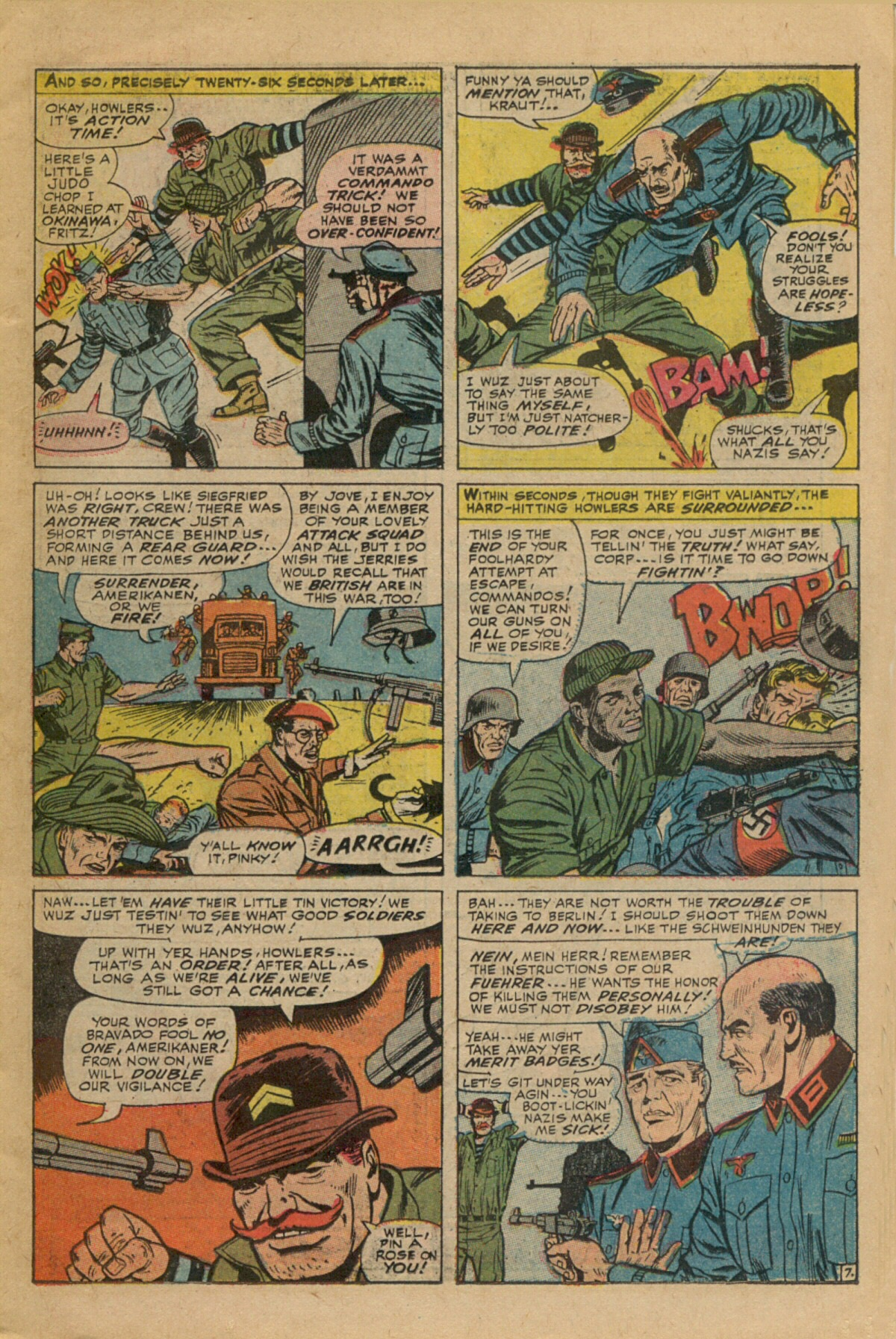 Read online Sgt. Fury comic -  Issue #35 - 11