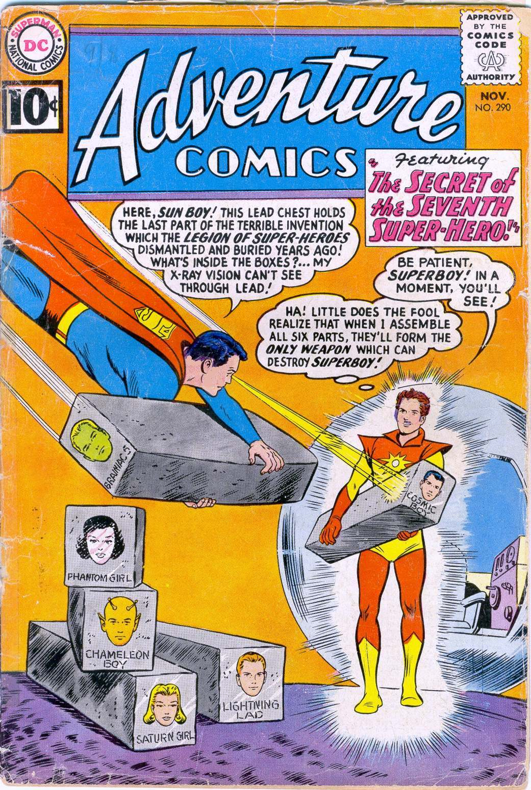 Read online Adventure Comics (1938) comic -  Issue #290 - 16
