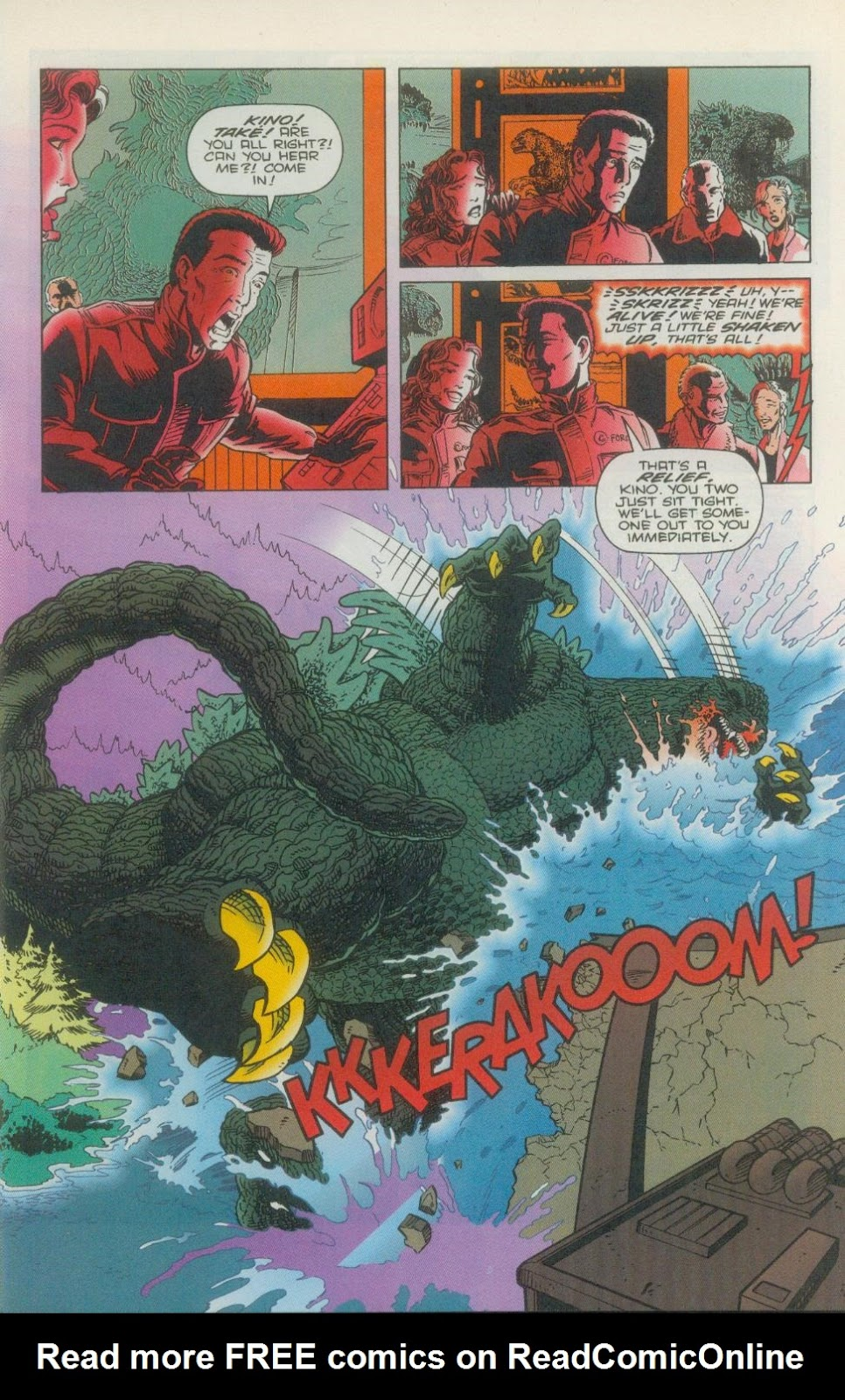 Godzilla (1995) Issue #1 #2 - English 18
