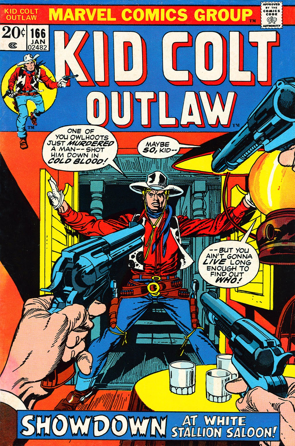 Kid Colt Outlaw issue 166 - Page 1