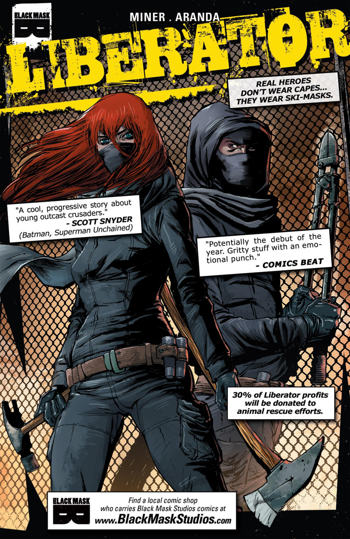 Read online Ballistic (2013) comic -  Issue #1 - 34