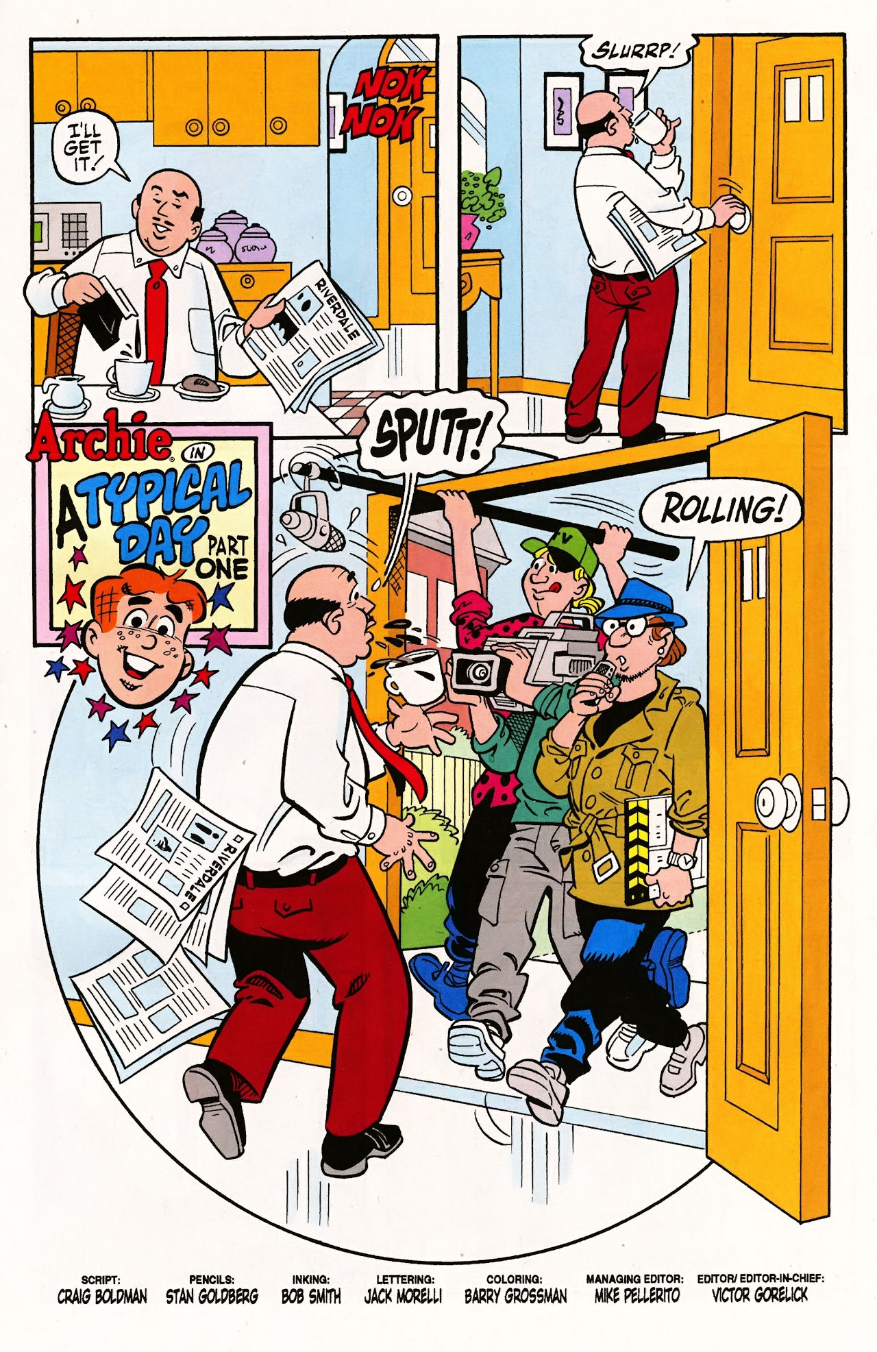 Read online Archie (1960) comic -  Issue #597 - 3